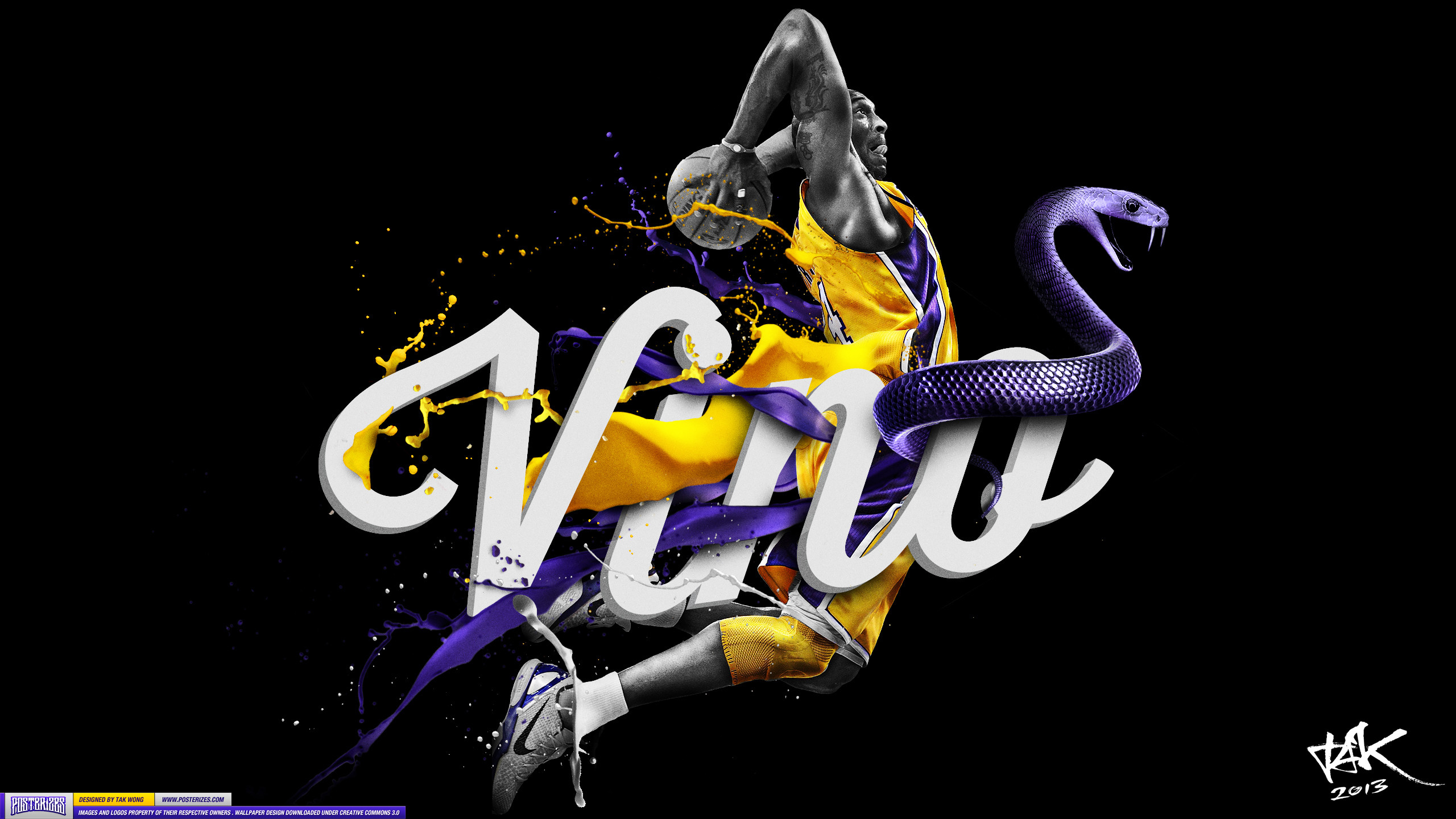 Kobe 'Vino' Bryant Wallpaper | Posterizes | NBA Wallpapers .