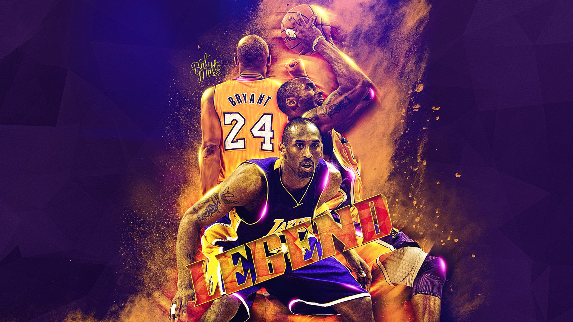 Kobe Bryant NBA Legend Wallpaper