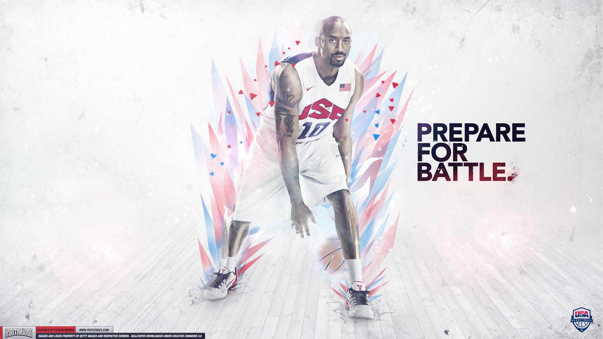 Kobe Bryant – 'Team USA' (WALLPAPER)