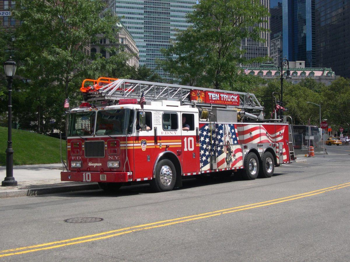 <b>Wallpaper Firefighter Truck</b> 3D Download – <b>