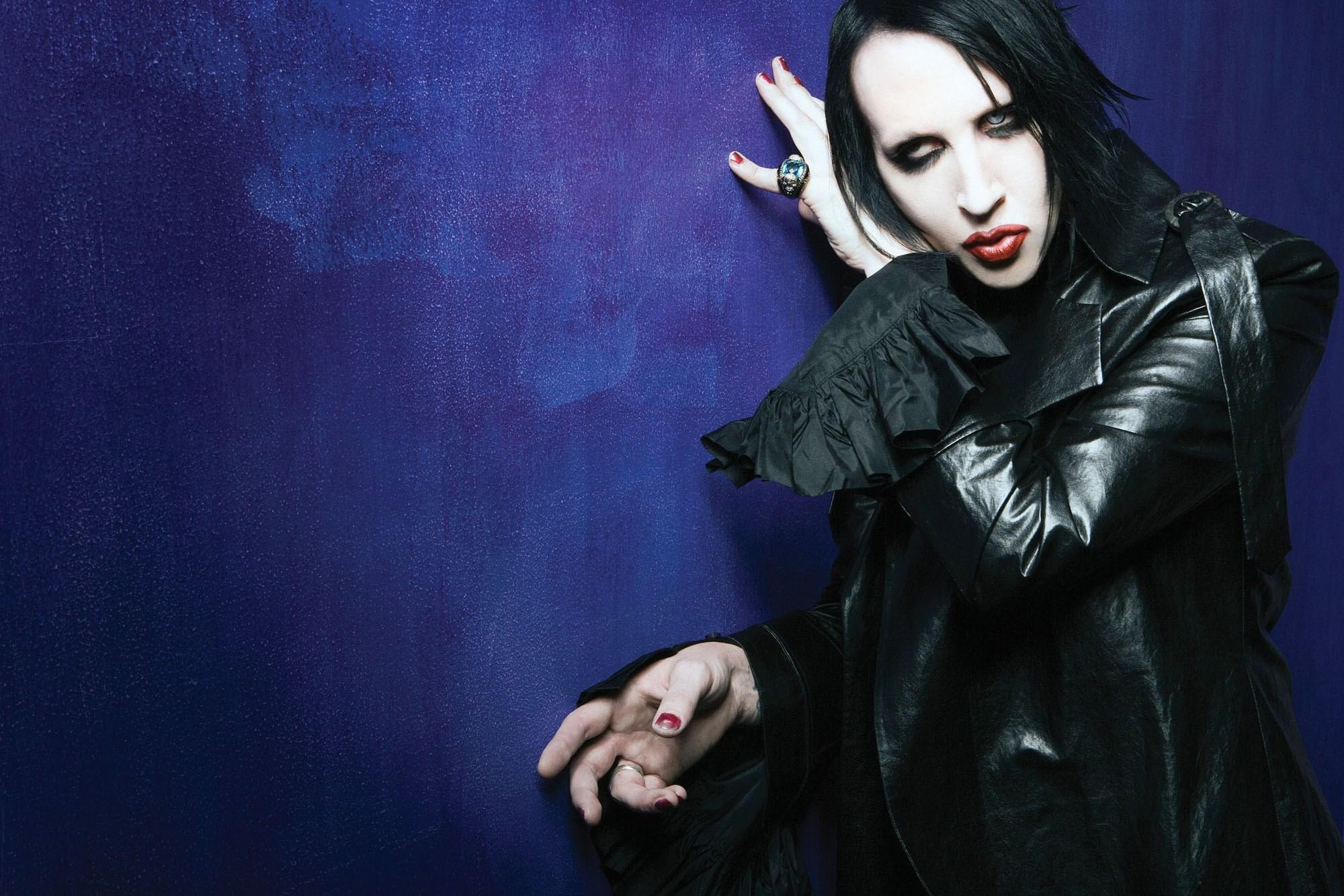 114 Marilyn Manson Wallpaper Hd
