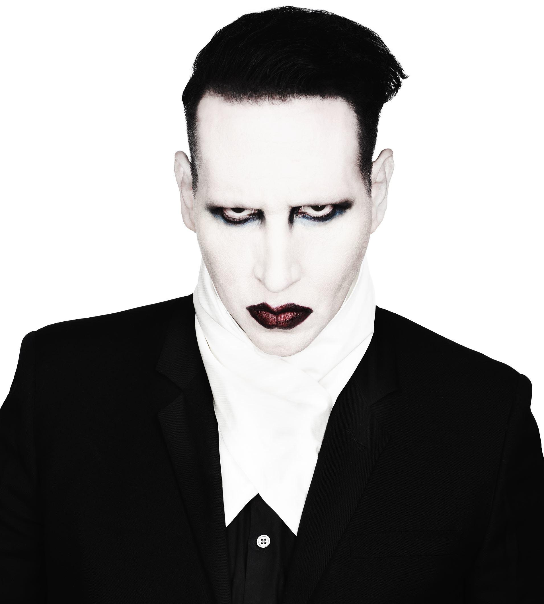 Marilyn Manson Desktop Wallpaper 03529