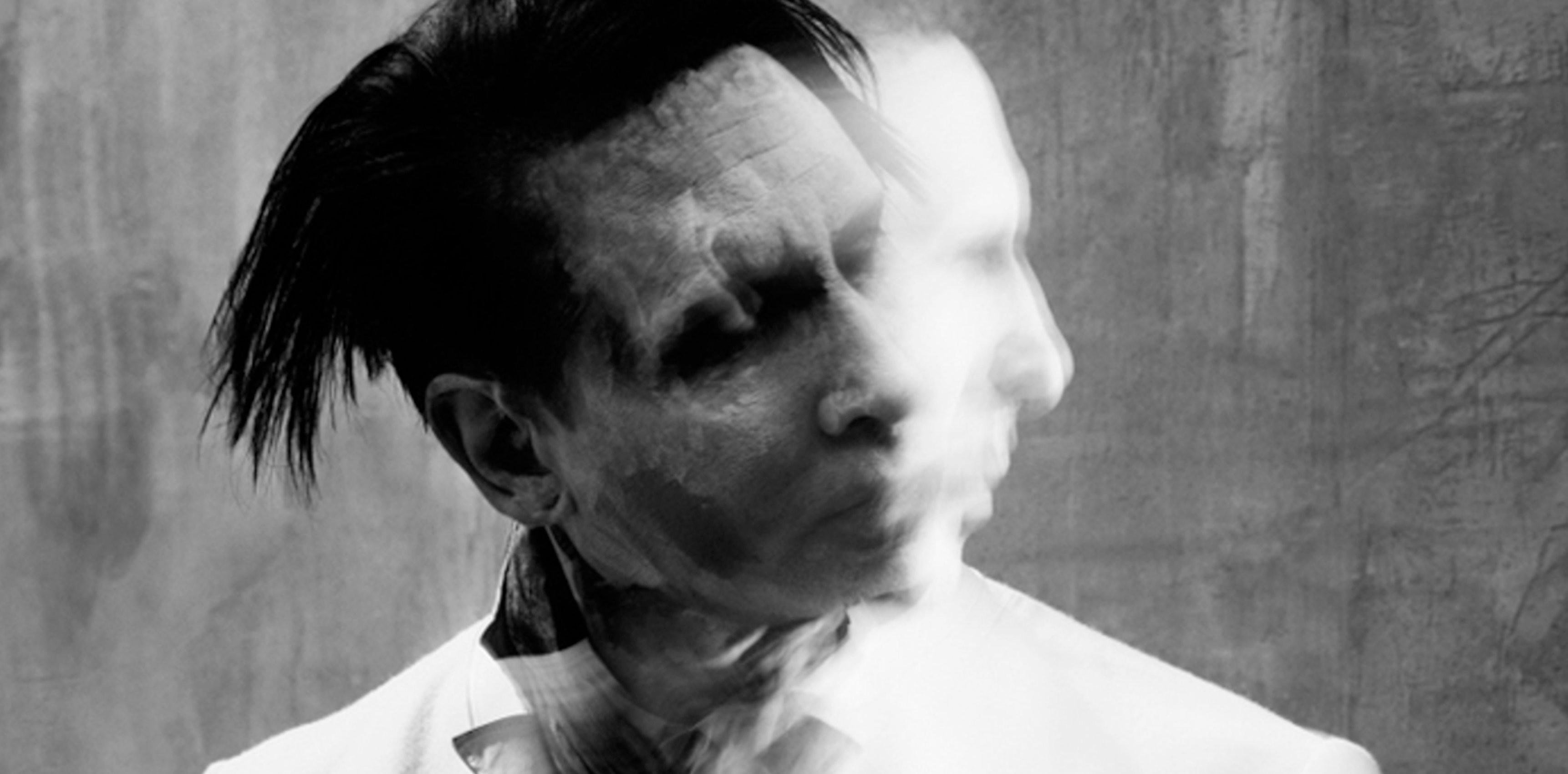 Marilyn Manson Industrial Metal Heavy Glam Shock Hard Rock Wallpaper At  Dark Wallpapers
