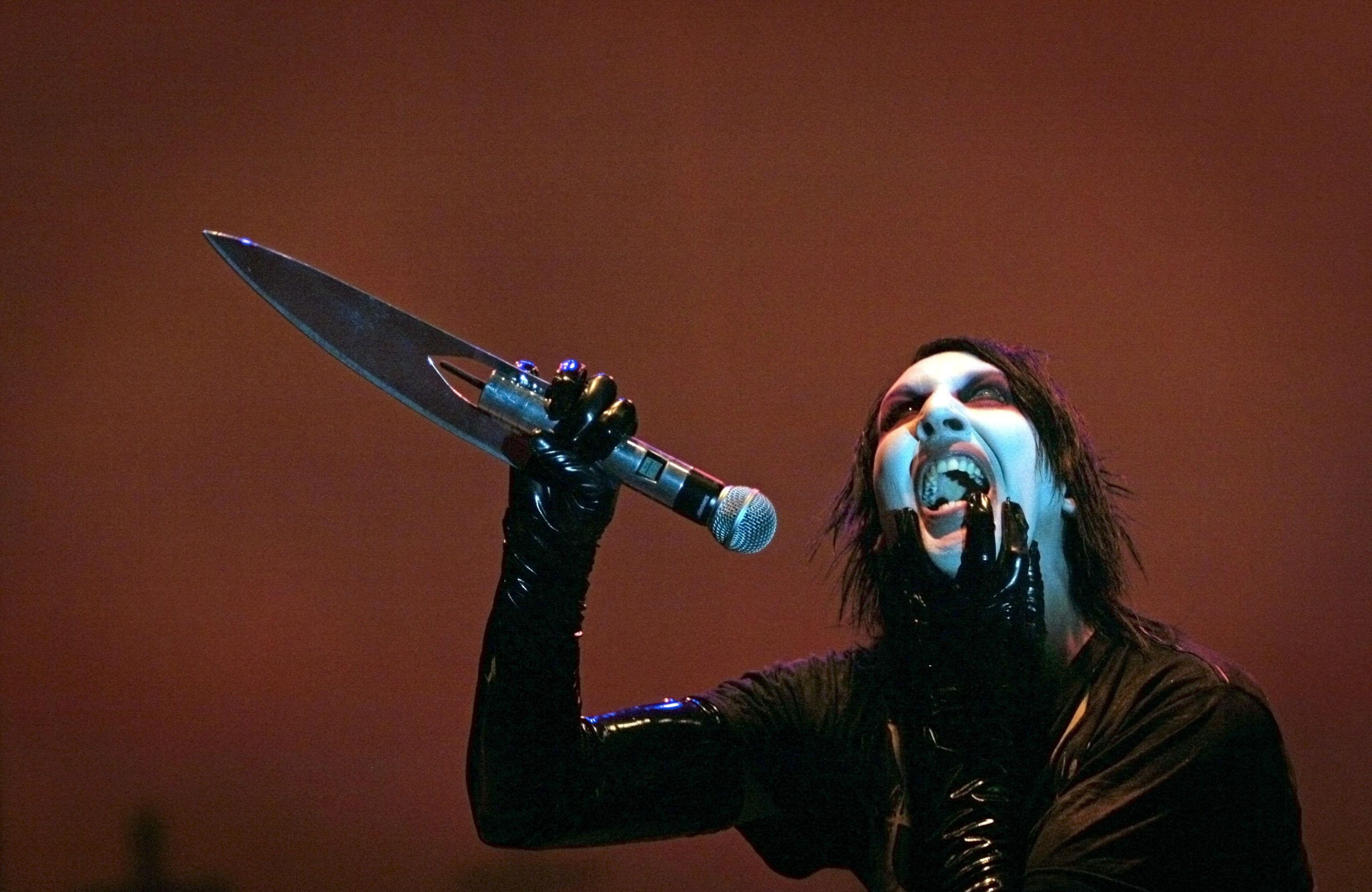 marilyn manson wallpaper pictures free by Walton Sinclair (2016-08-15)