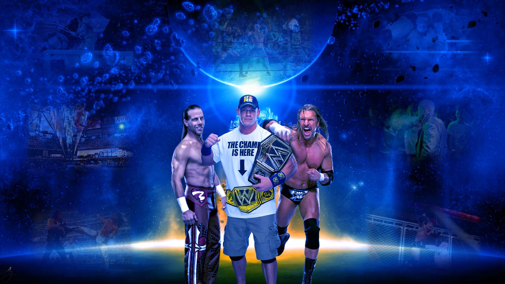 Triple H And John Cena Friends Wallpaper By Funkyali