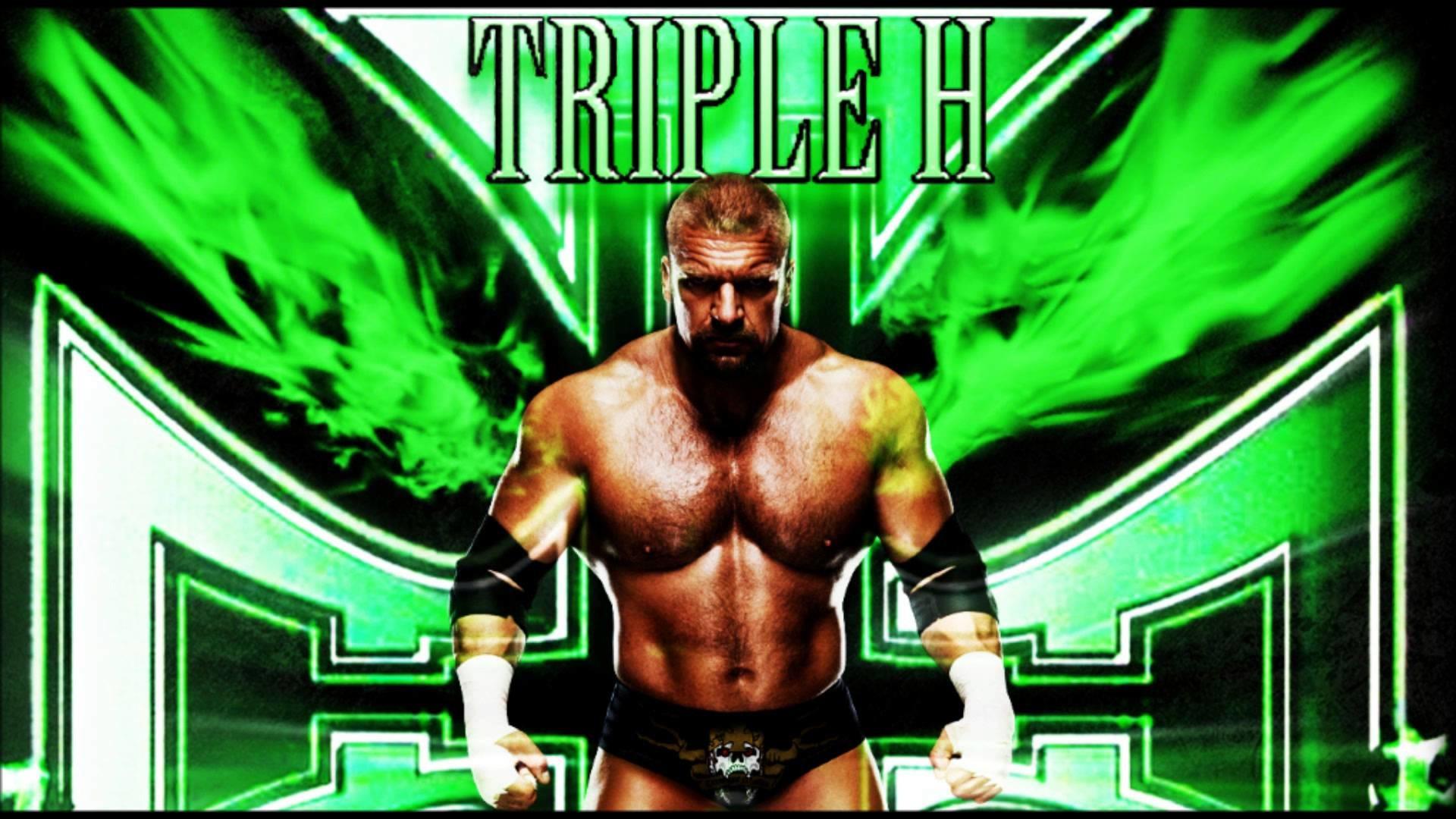Triple H King Of Kings Wallpaper
