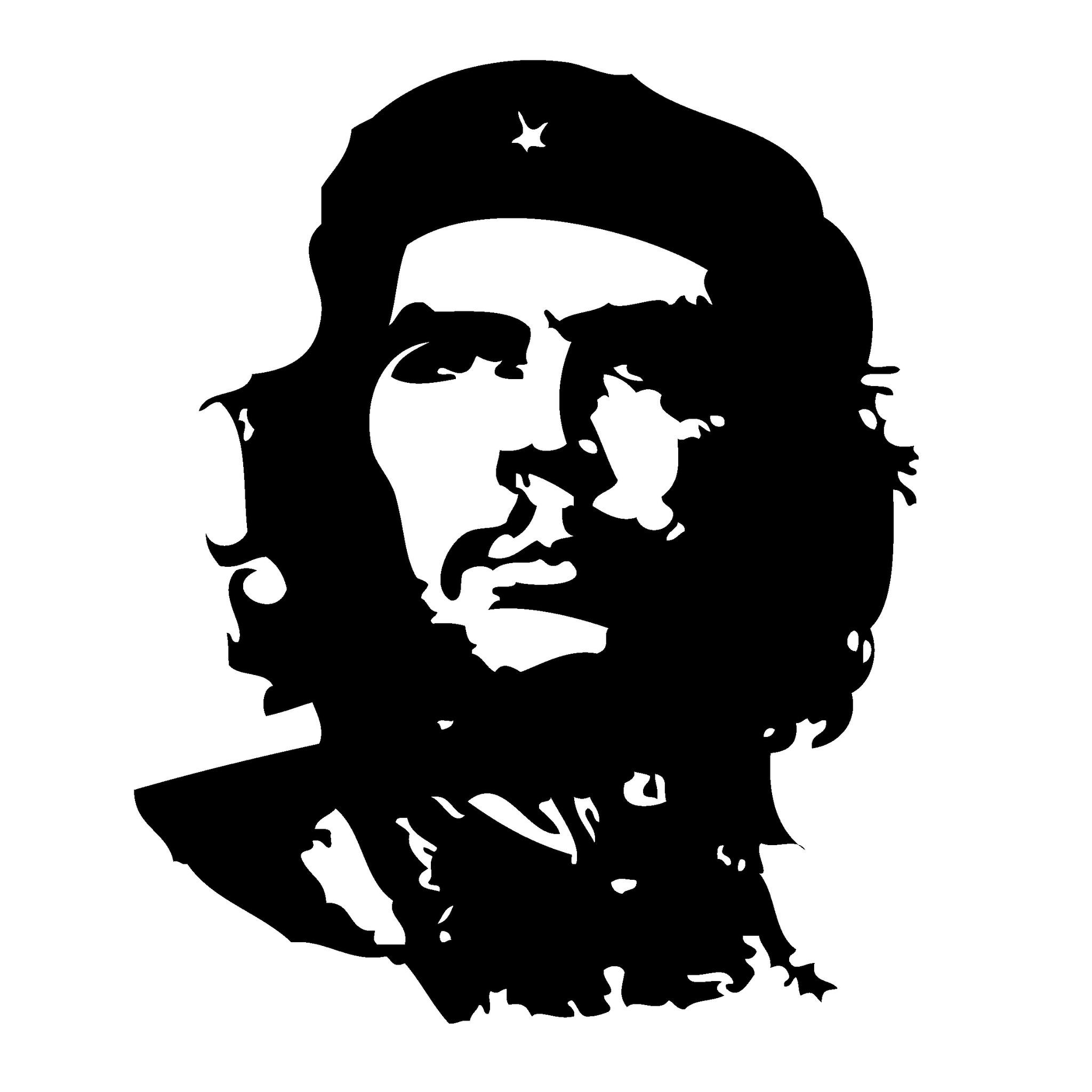 Download Che Guevara Portrait Illustration iPad Wallpaper HD