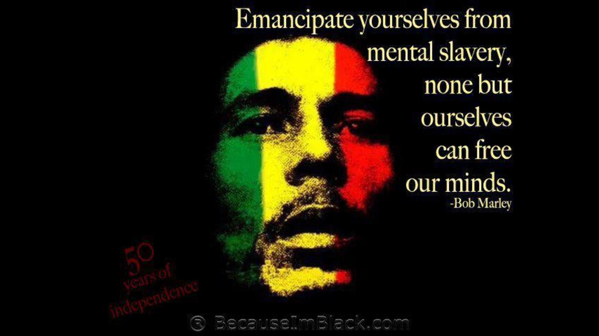 Bob Marley Quotes Wallpaper HD Free | SmaData.com