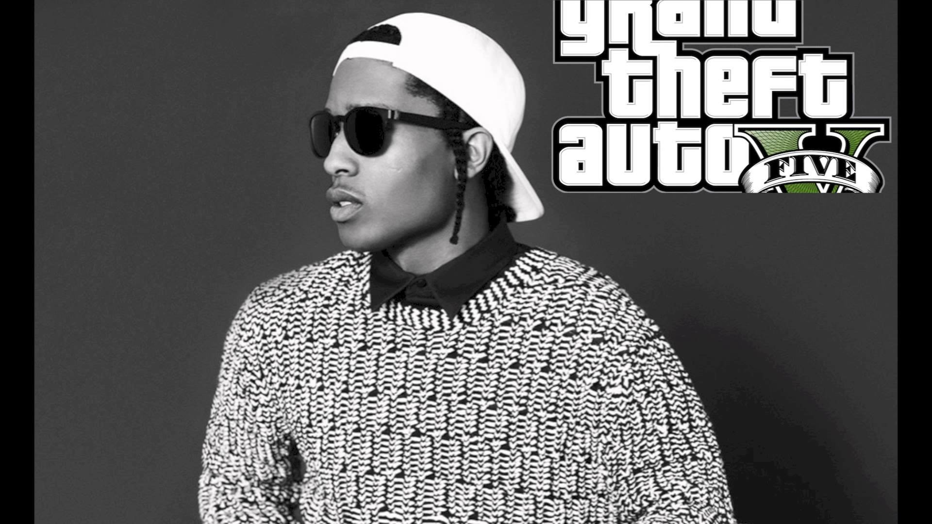 ASAP Rocky GTA 5 Wallpaper • Rap Wallpapers