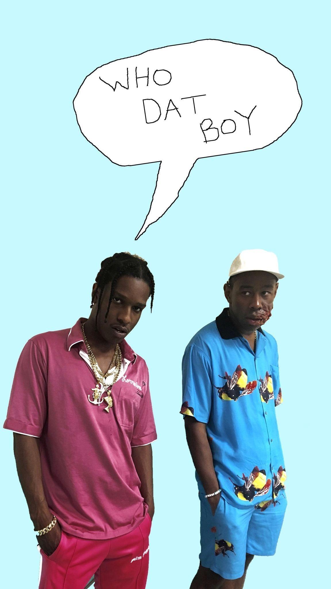 [Mobile Wallpaper] Tyler, The Creator – Who Dat Boy (feat. A$AP Rocky) …