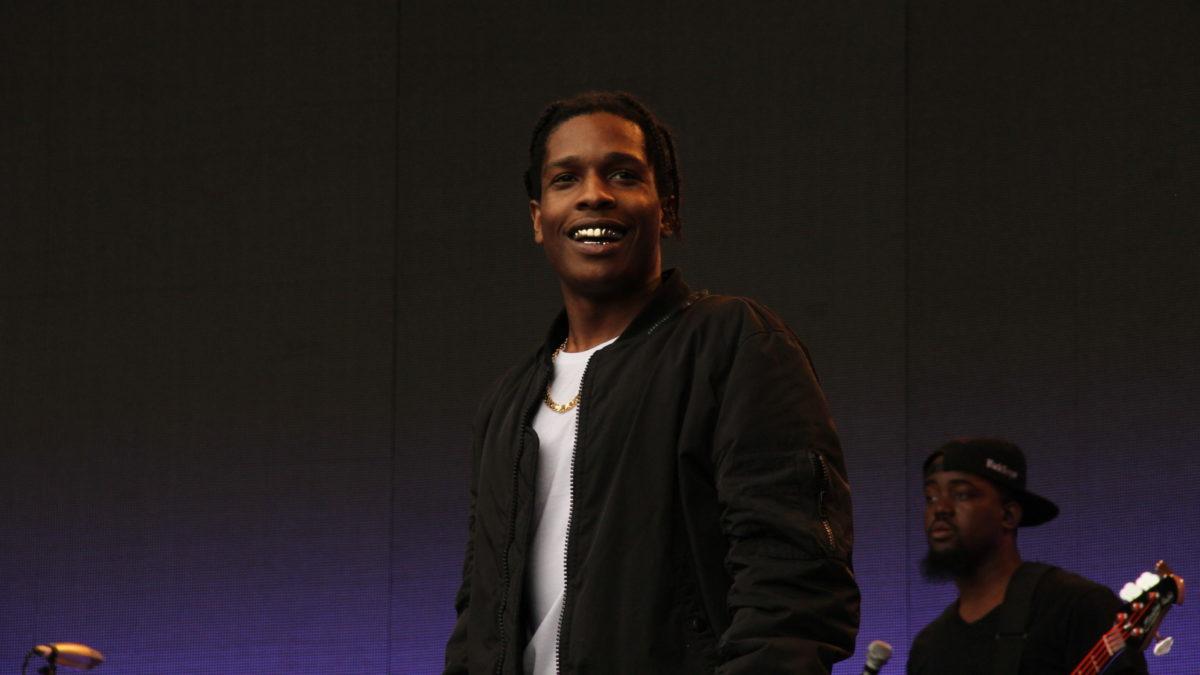 Asap Rocky, Rapper, Singer, Rakim Mayers, Rap, Hip Hop, Gold