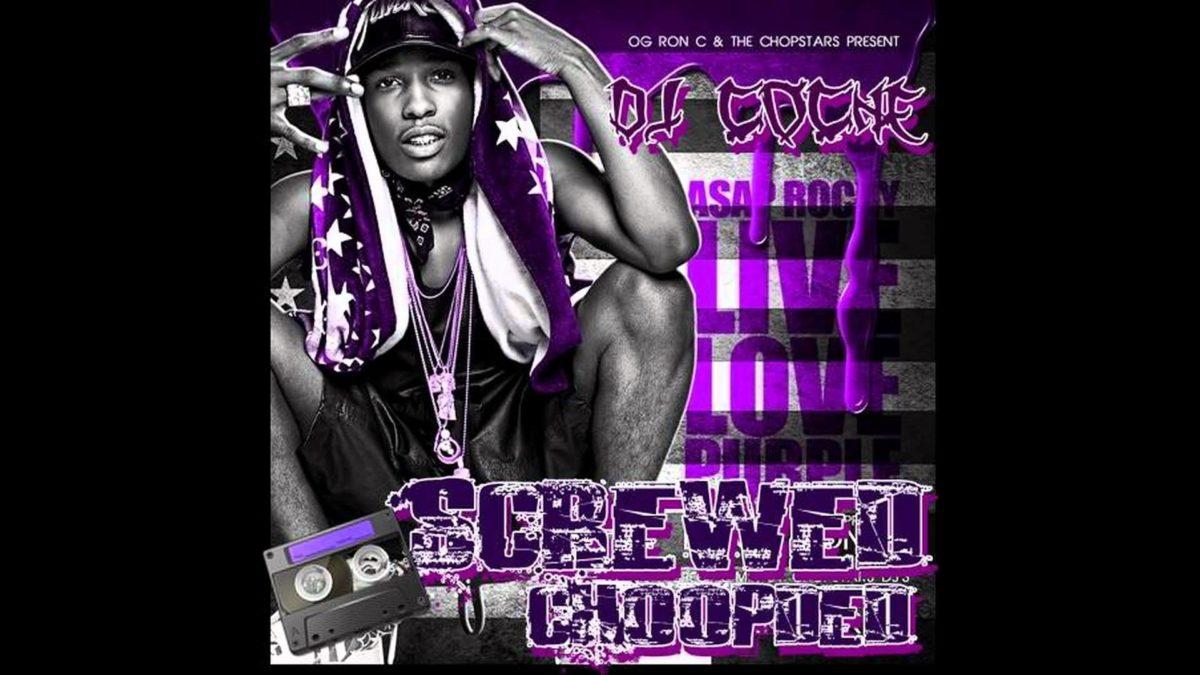 Asap Rocky Purple Swag Wallpaper