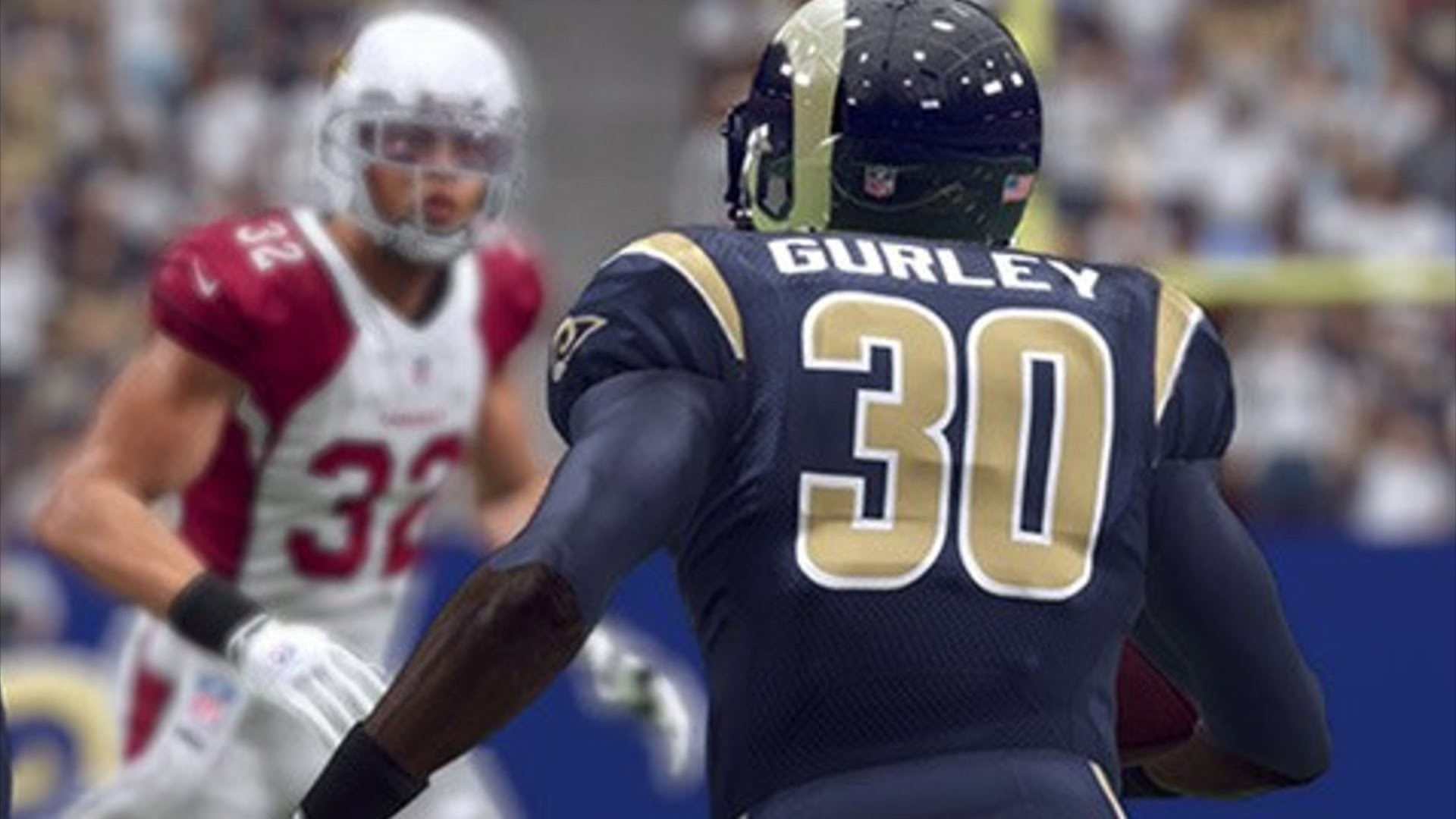 Doing em with Todd Gurley:::Madden 16 Ranked game::: Rams vs Cowboys –  YouTube