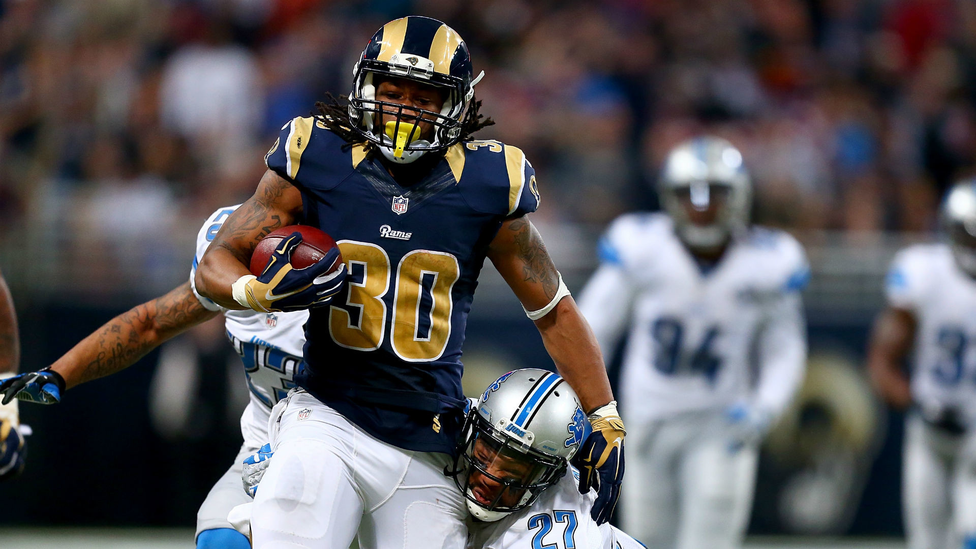 Gurley has been compared to Dickerson with his running style, which has  helped draw up that dream. Some of his favorite all-time great feature  backs include …