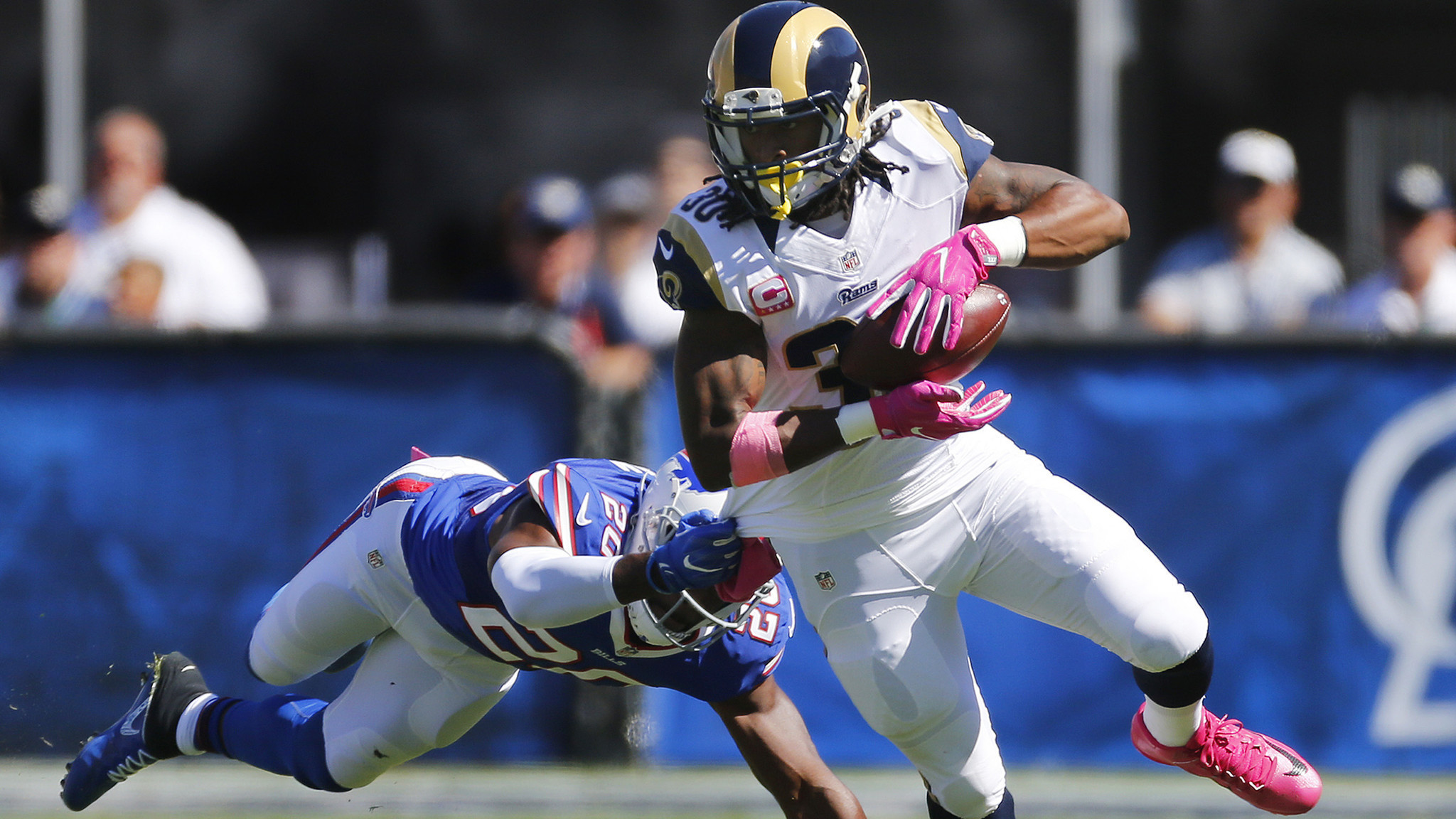 Rams' Todd Gurley is staying patient but has little to show for it this  season – LA Times