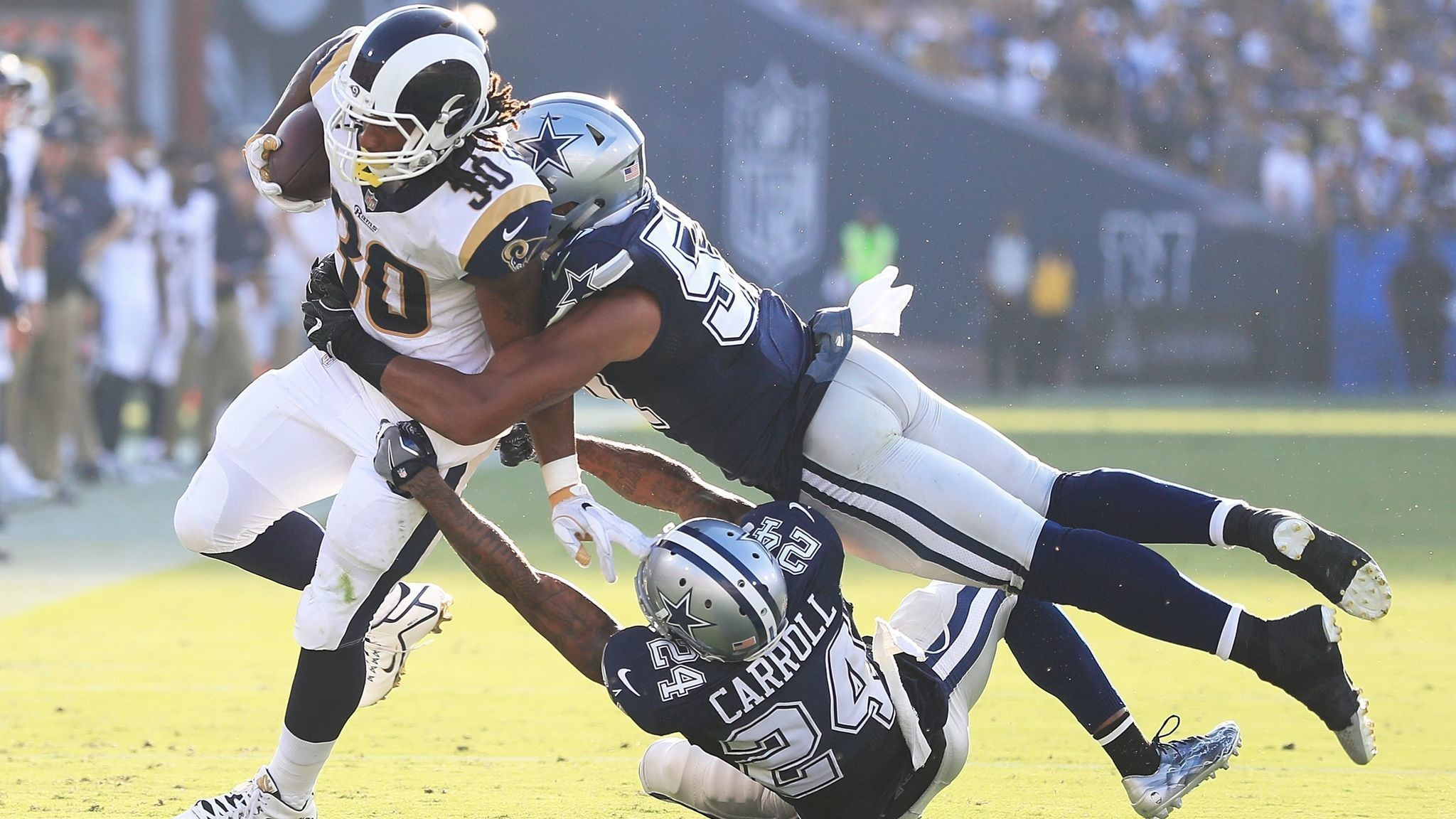 Rams running back Todd Gurley will get more carries during preseason, Coach  Sean McVay says – LA Times