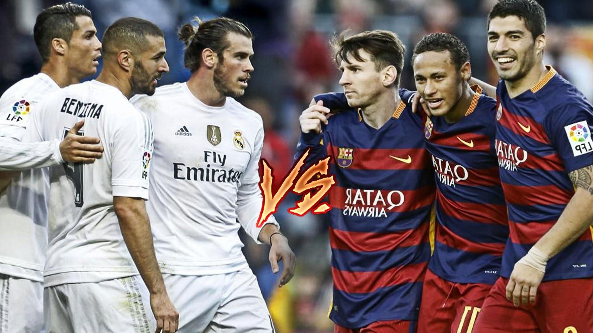Bale, Benzema, C.Ronaldo vs Messi, Suarez, Neymar   BBC vs