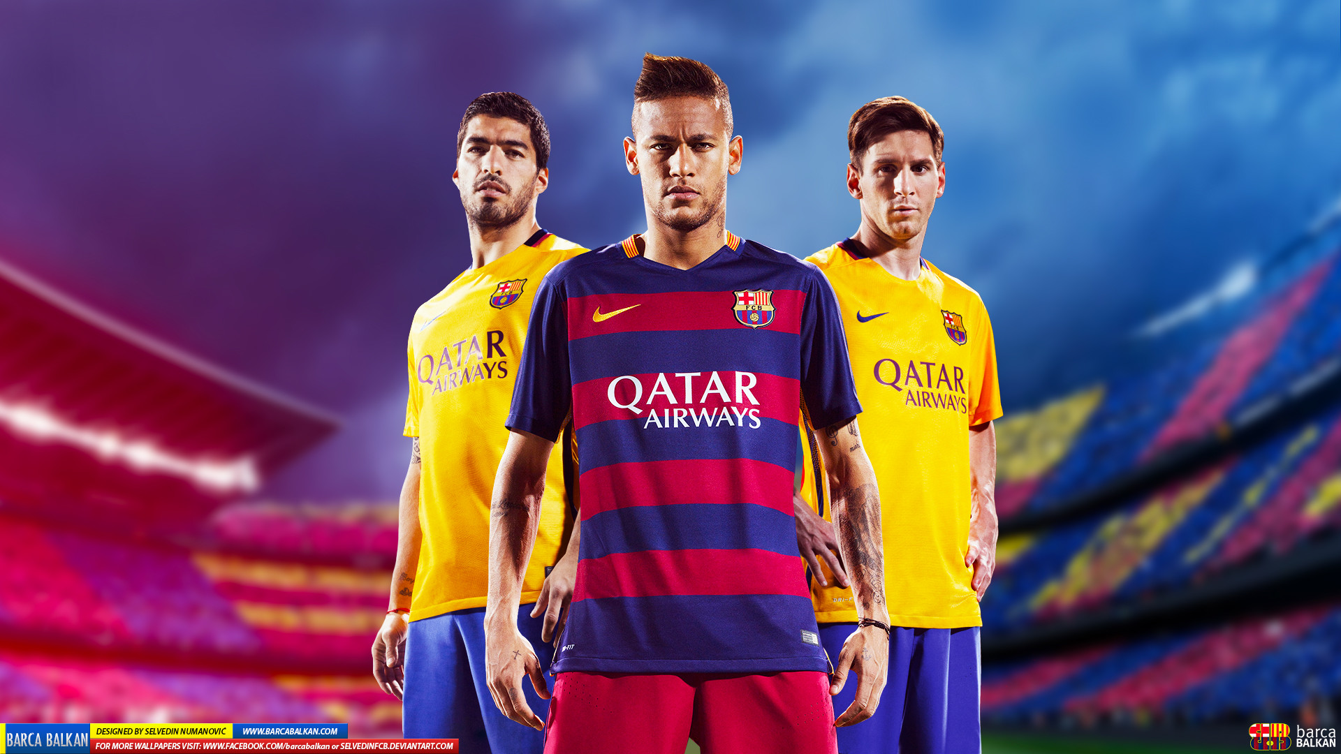Messi Neymar Suarez Wallpaper