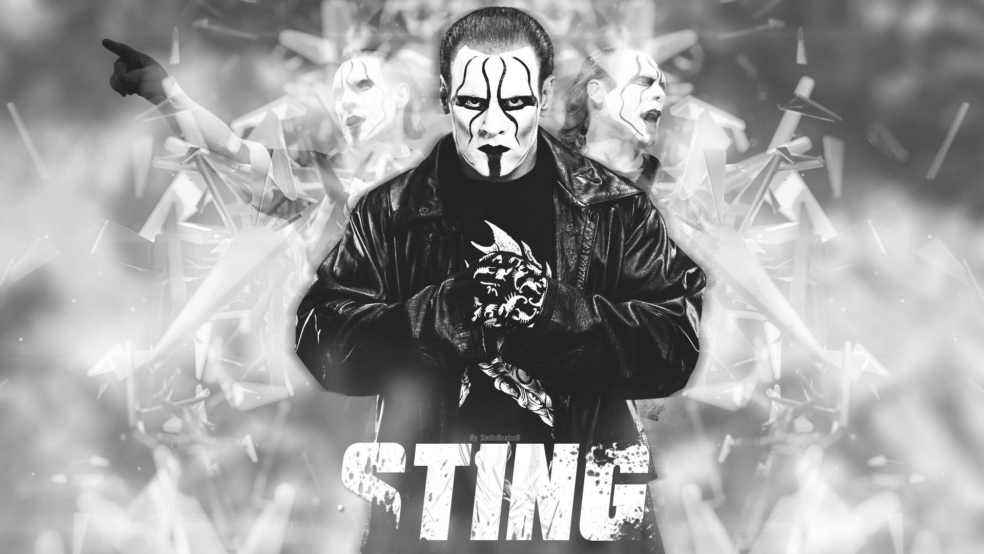 New WWE Wrestling Sting 2015 Wallpaper by SmileDexizeR on DeviantArt