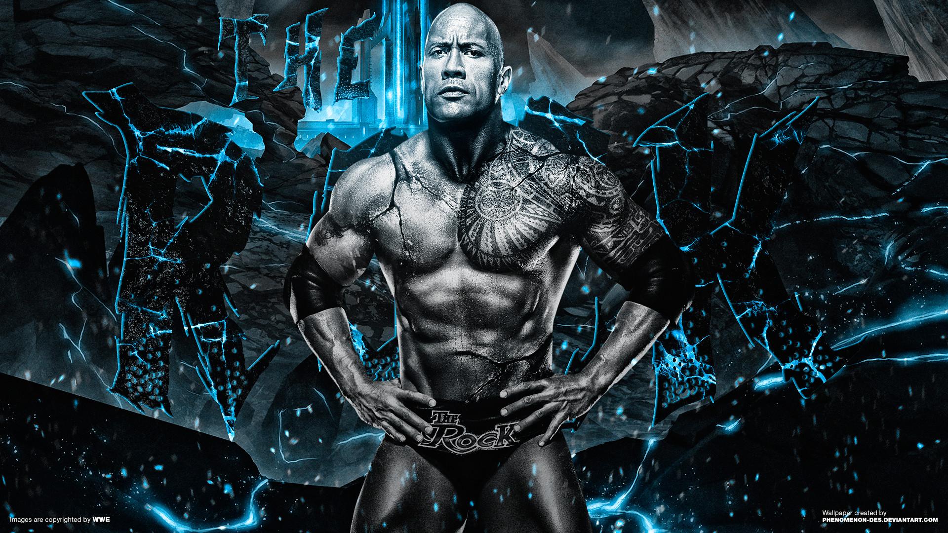 … WWE The Rock Wallpaper by Phenomenon-Des