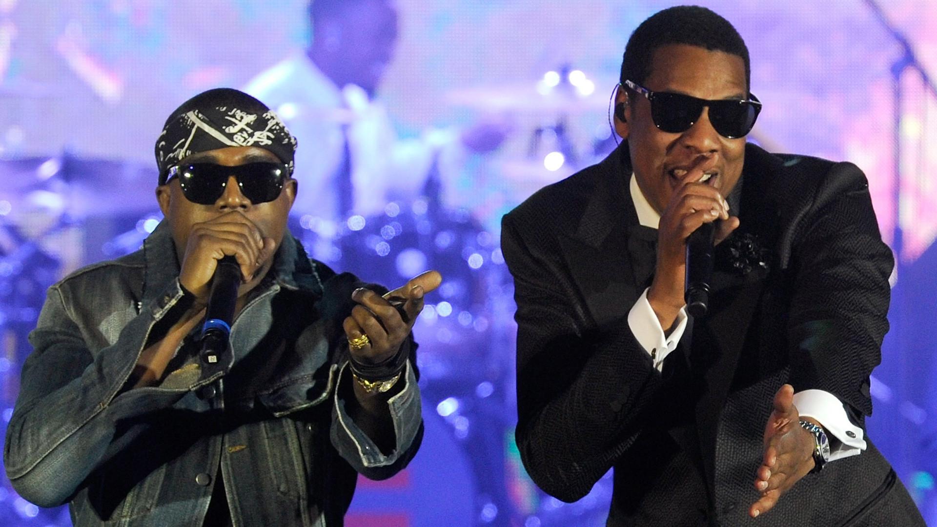 Jay-Z & Kanye West Computer Wallpapers, Desktop … Jay Z Kanye