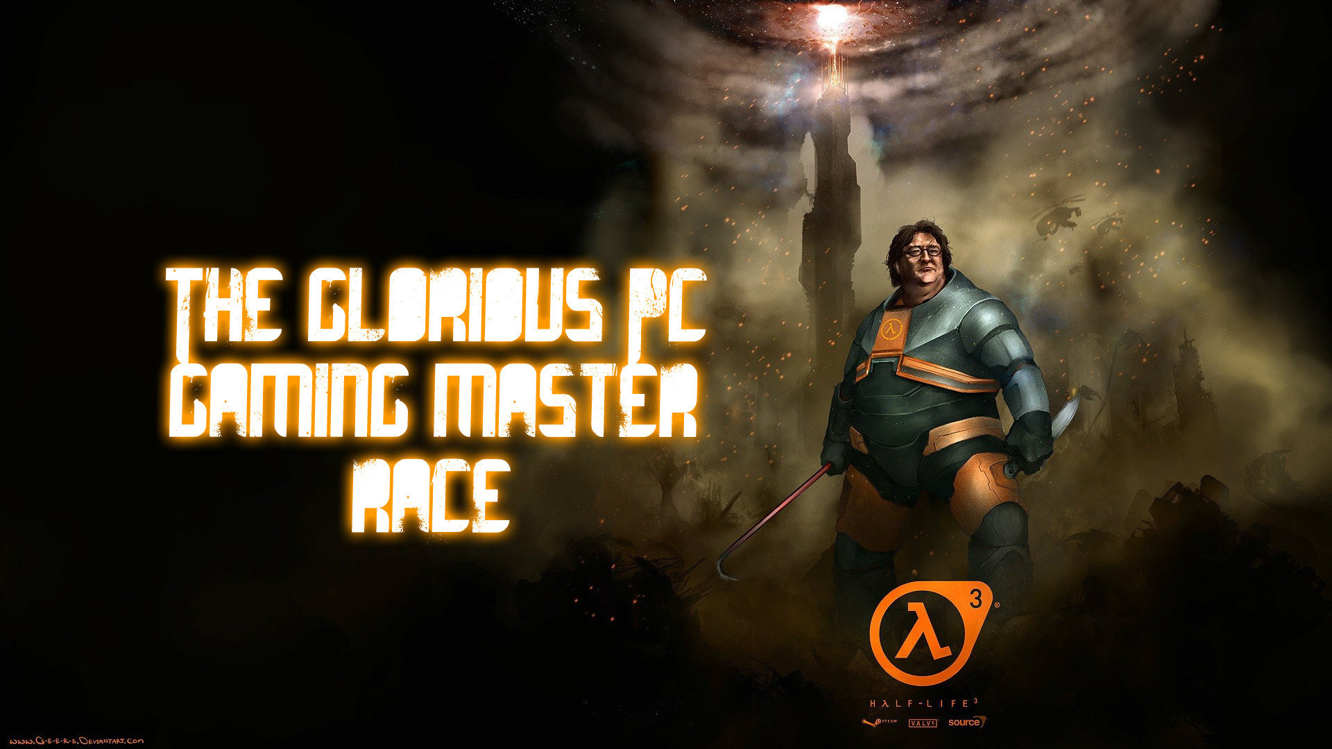any 1920x1080p Gaben wallpapers? PC MASTER RACE – #131914698 added