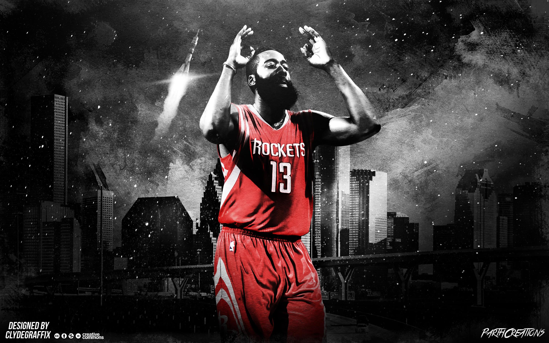 James Harden Rockets 2015 Wallpaper