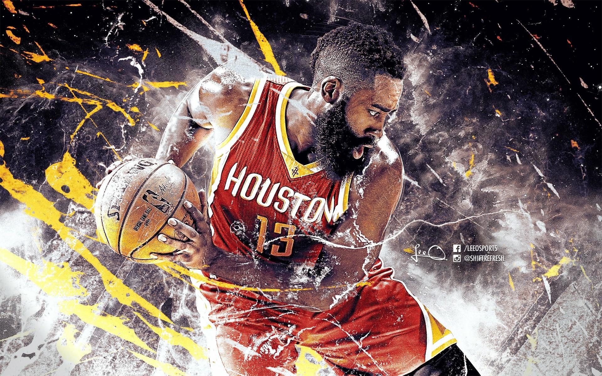 James Harden 2017 Nba Mvp Basketball Wallpapers At