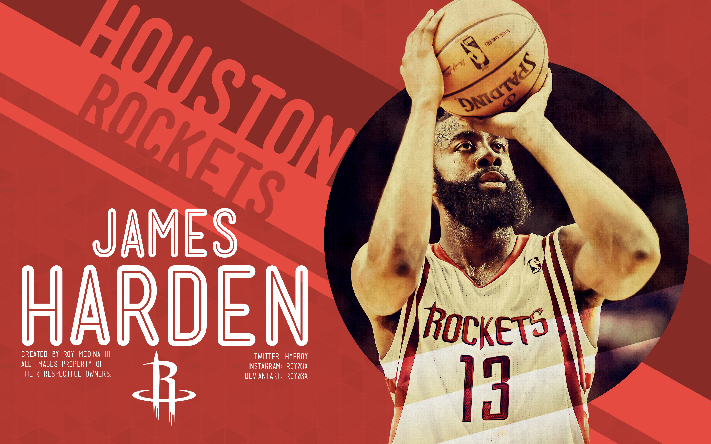 James Harden Rockets Wallpaper James harden by roy03x