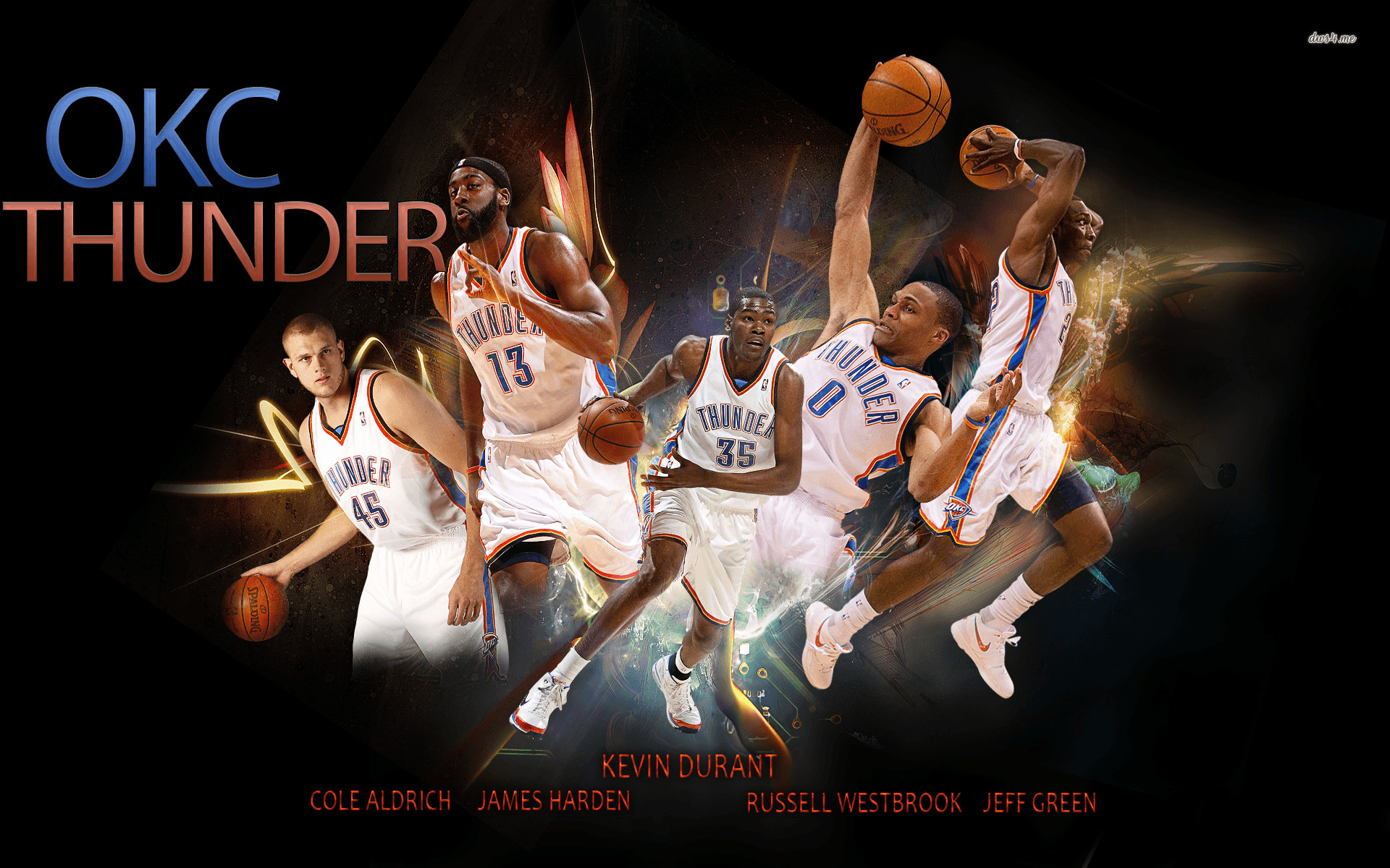 Oklahoma City Thunder Basketball..   thunder   Pinterest .
