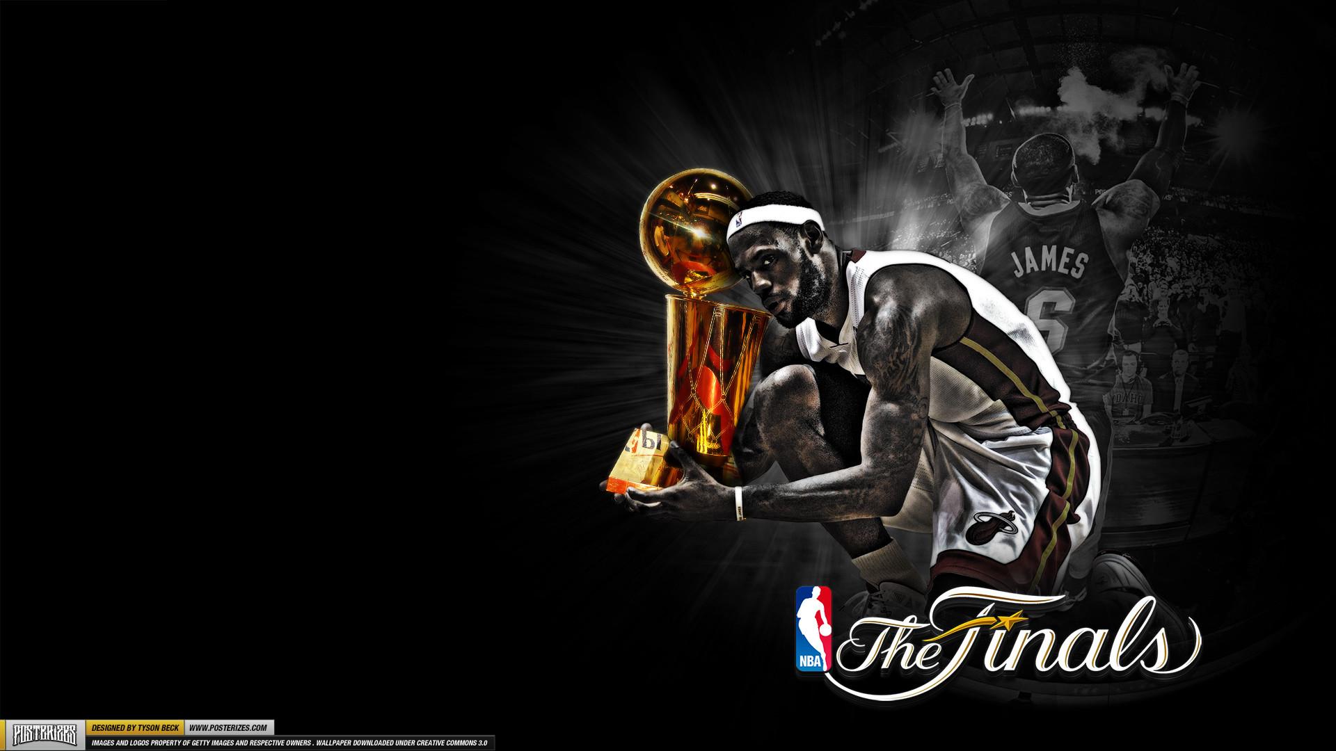 Wallpaper: LeBron James – 'Trophy Hunting'