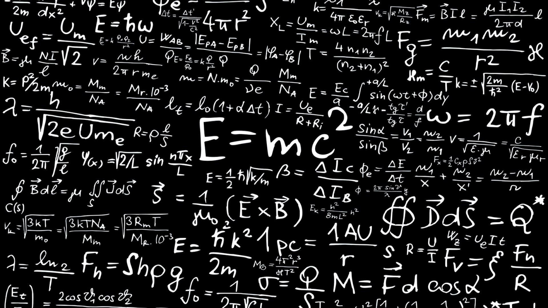 Science Albert Einstein Formulas Mathematics Physics