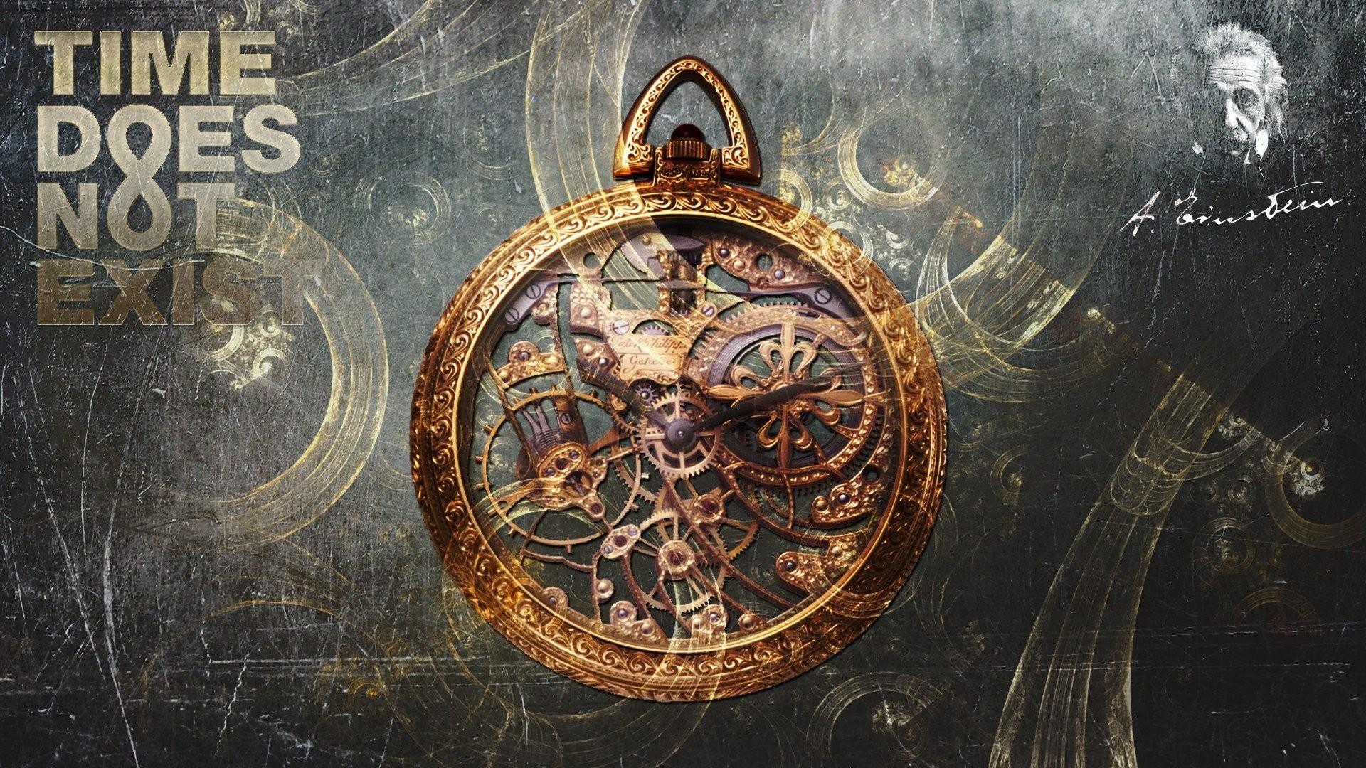 artwork, Fantasy Art, Time, Clocks, Clockwork, Pocketwatches, Albert  Einstein Wallpapers HD / Desktop and Mobile Backgrounds