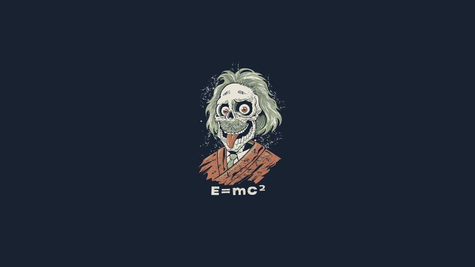 Albert Einstein Funny Zombie HD Wallpapers Exclusive