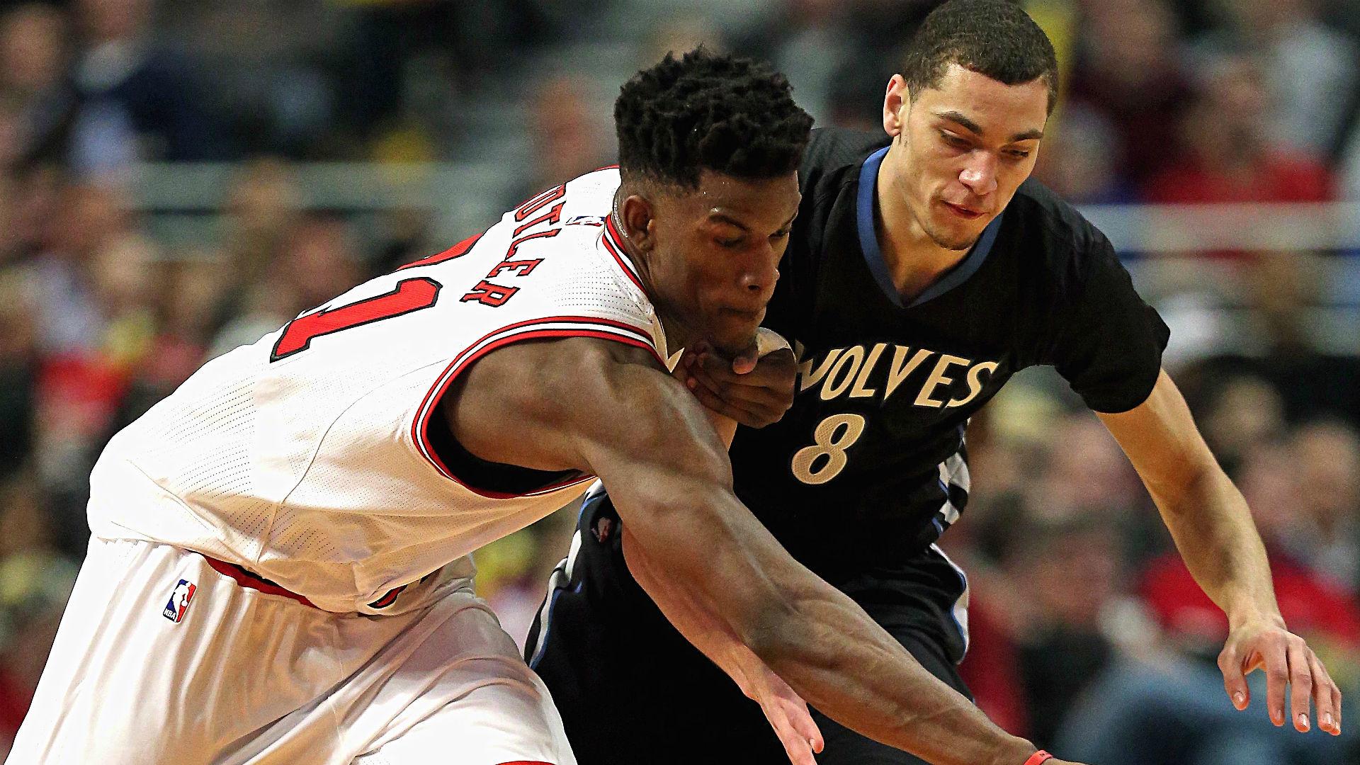 2017 NBA Draft: Timberwolves acquire Jimmy Butler from Bulls