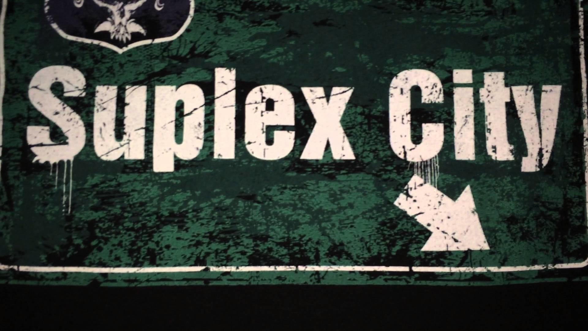 Brock Lesnar Suplex City Logo Pics