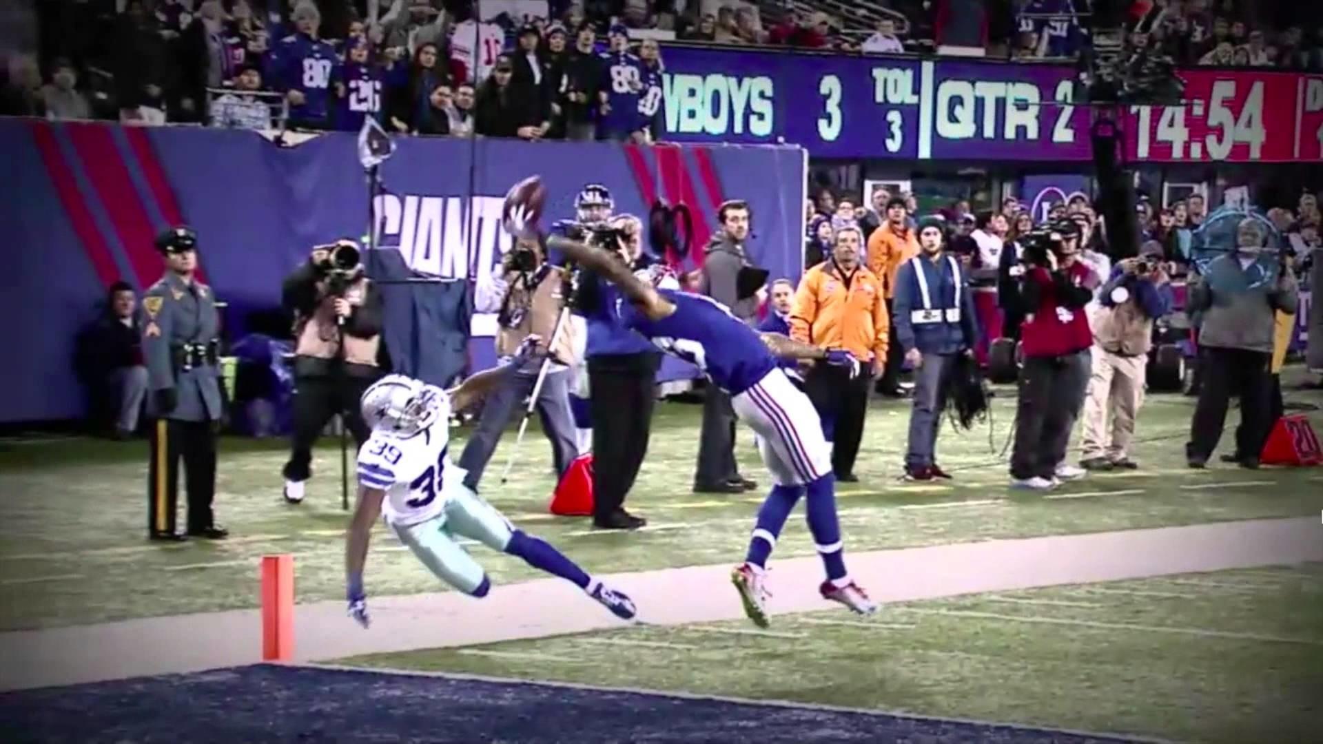 Odell Beckham Jr 's Touchdown Catch (NewYork Giants vs Dallas .
