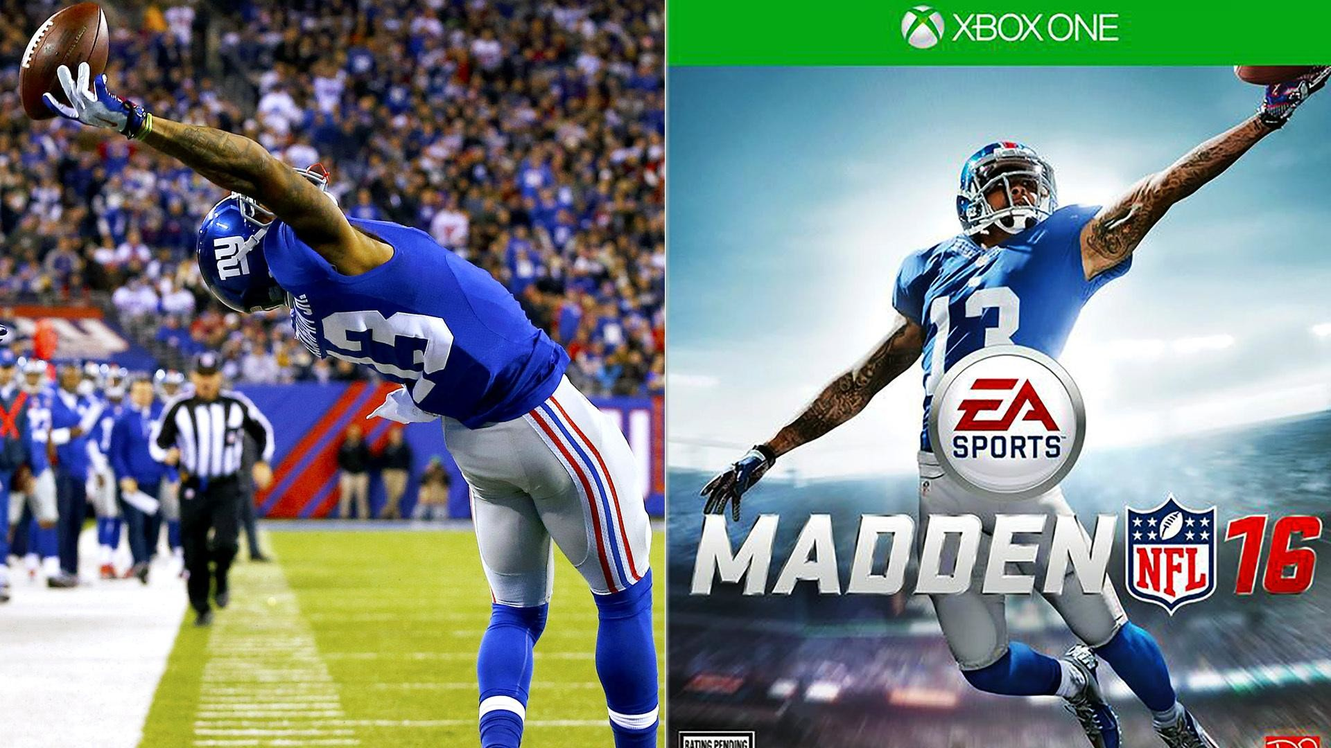 Odell Beckham Jr. Makes Another One-Handed Catch in Madden 16 Trailer –  Video Dailymotion