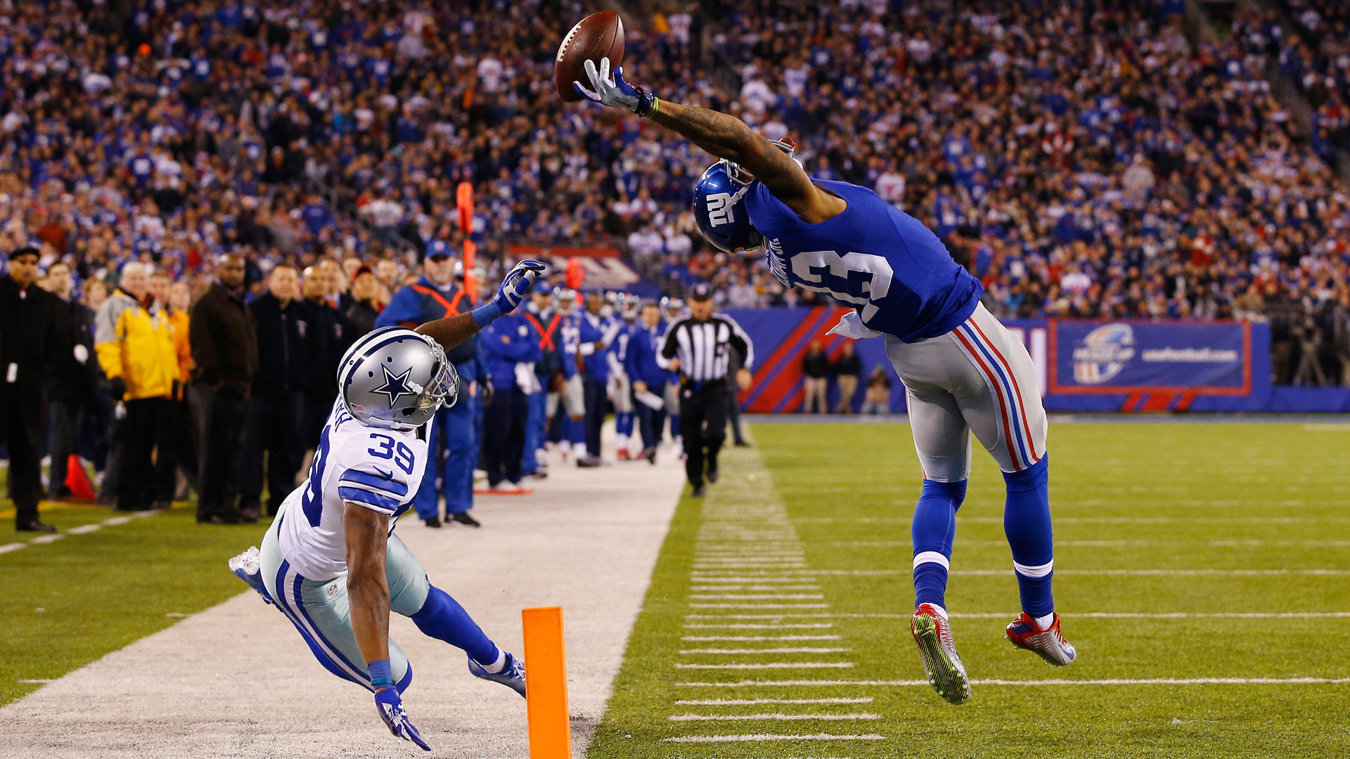 At a Sky Sports Facebook Live event, Odell Beckham Jr described the moment  that made