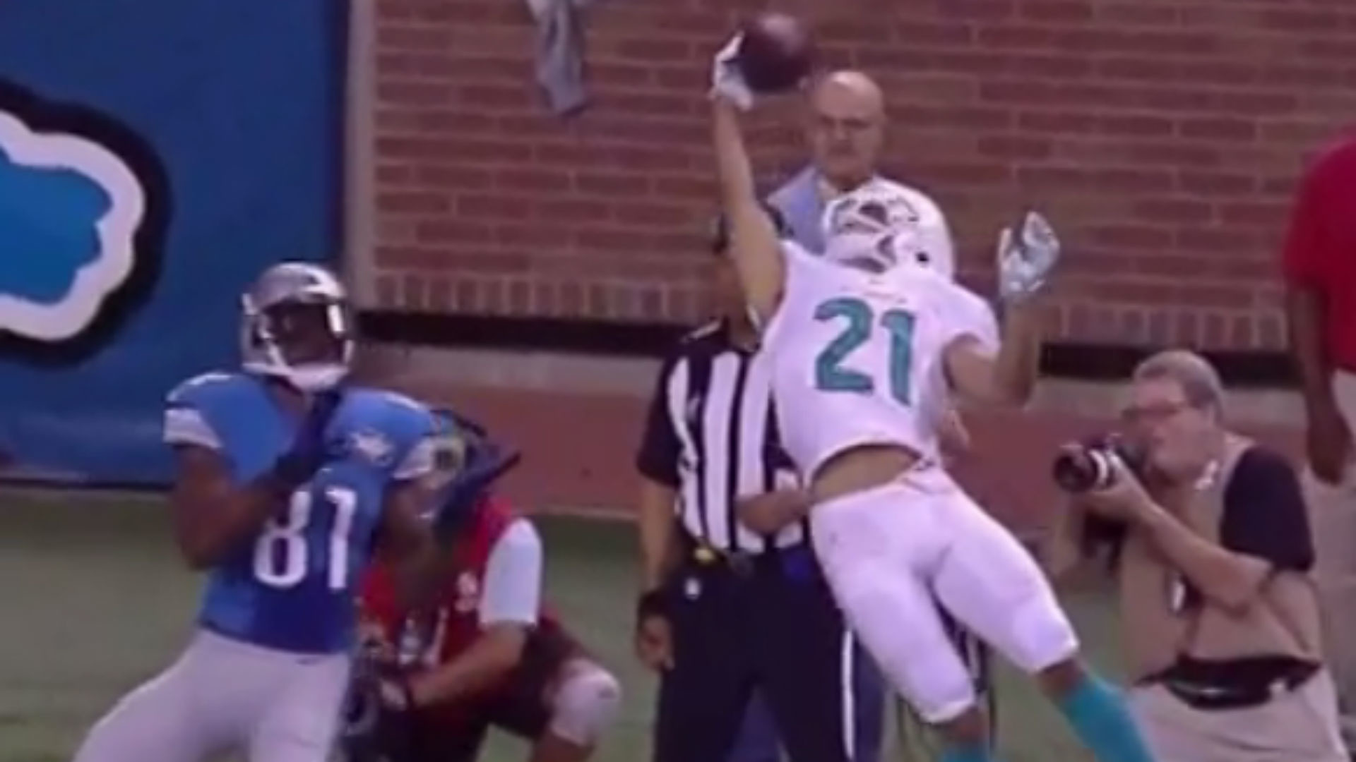 Brent Grimes thinks his catch was better than Odell Beckham Jr.'s | NFL |  Sporting News