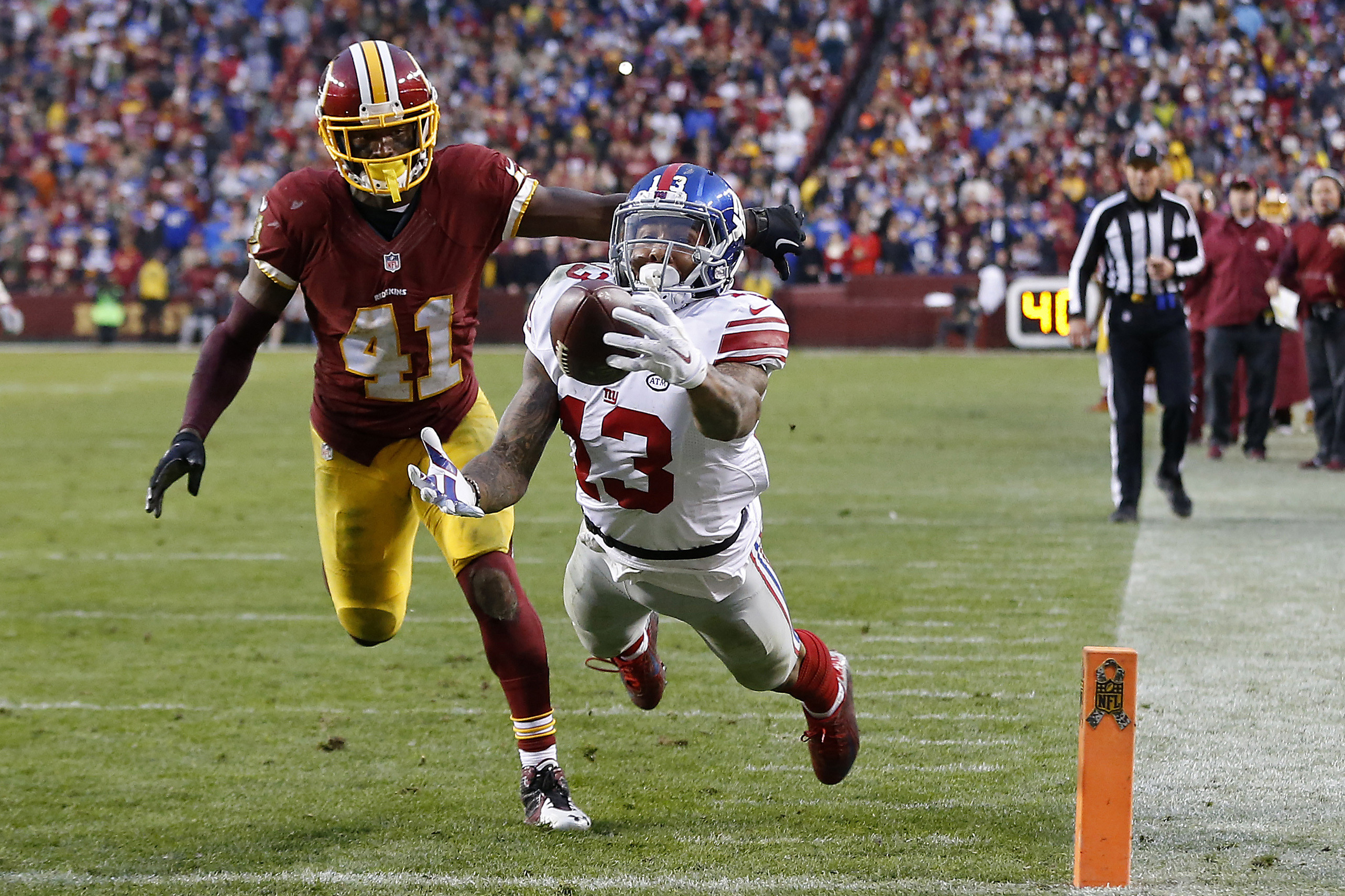 … Odell Beckham Jr. Makes Another Astonishing One-Handed TD Catch | For  …