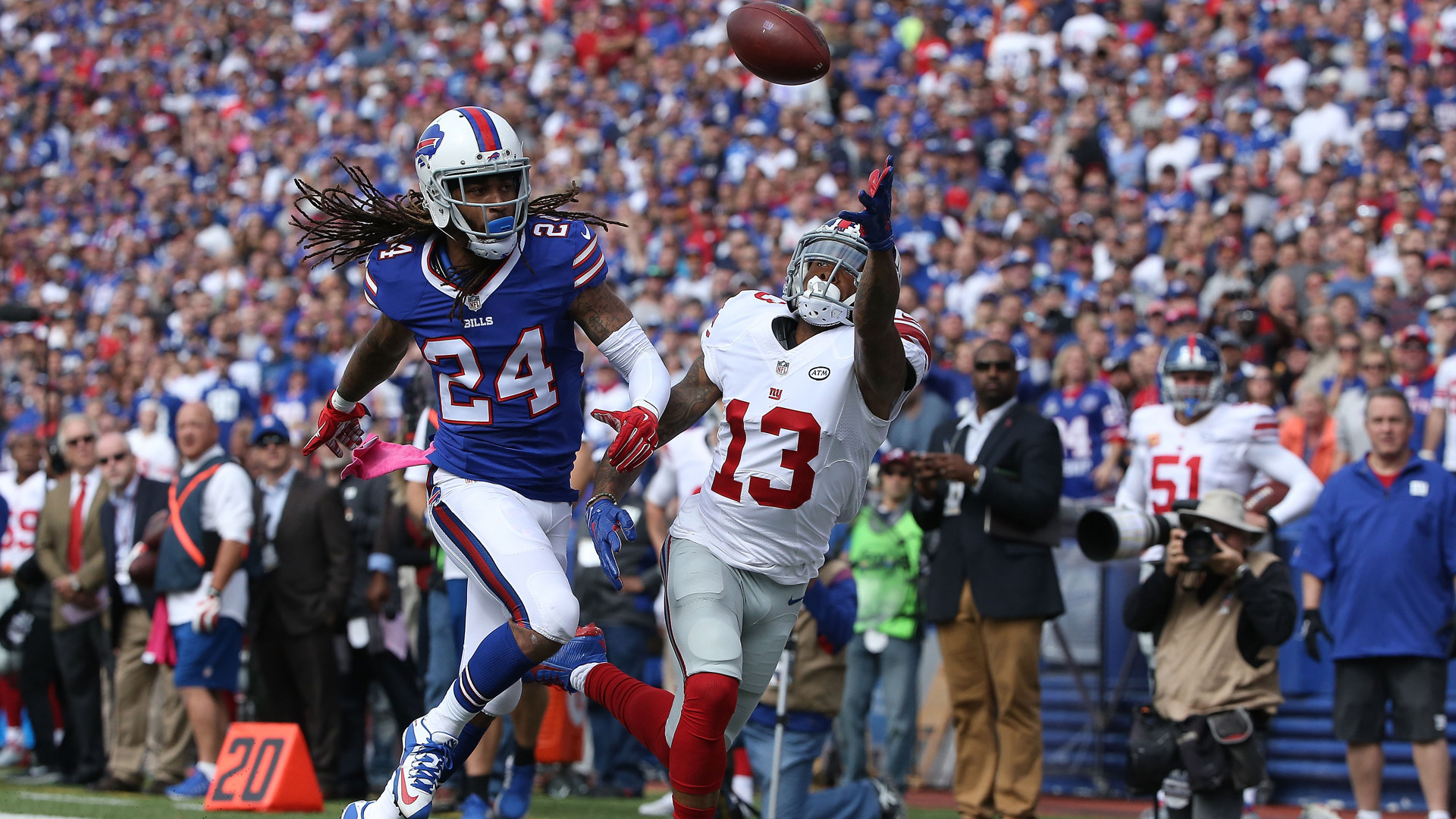 Odell Beckham Jr. nearly repeated 'The Catch' against the Buffalo Bills, but