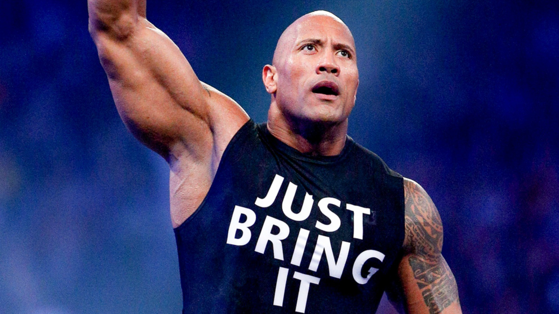The Rock returns to WWE 'Raw,' lays the smackdown on The New Day   WWE    Sporting News