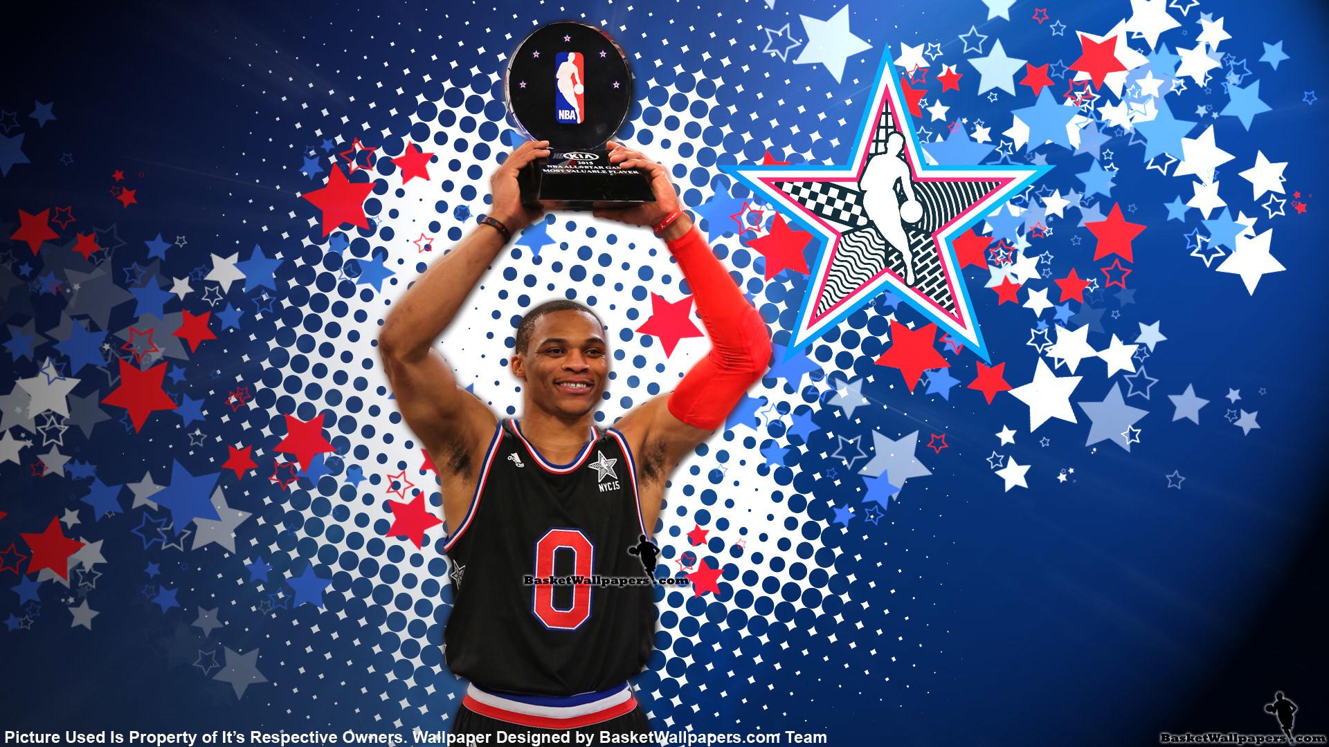 Russell Westbrook 2015 NBA All-Star MVP Wallpaper