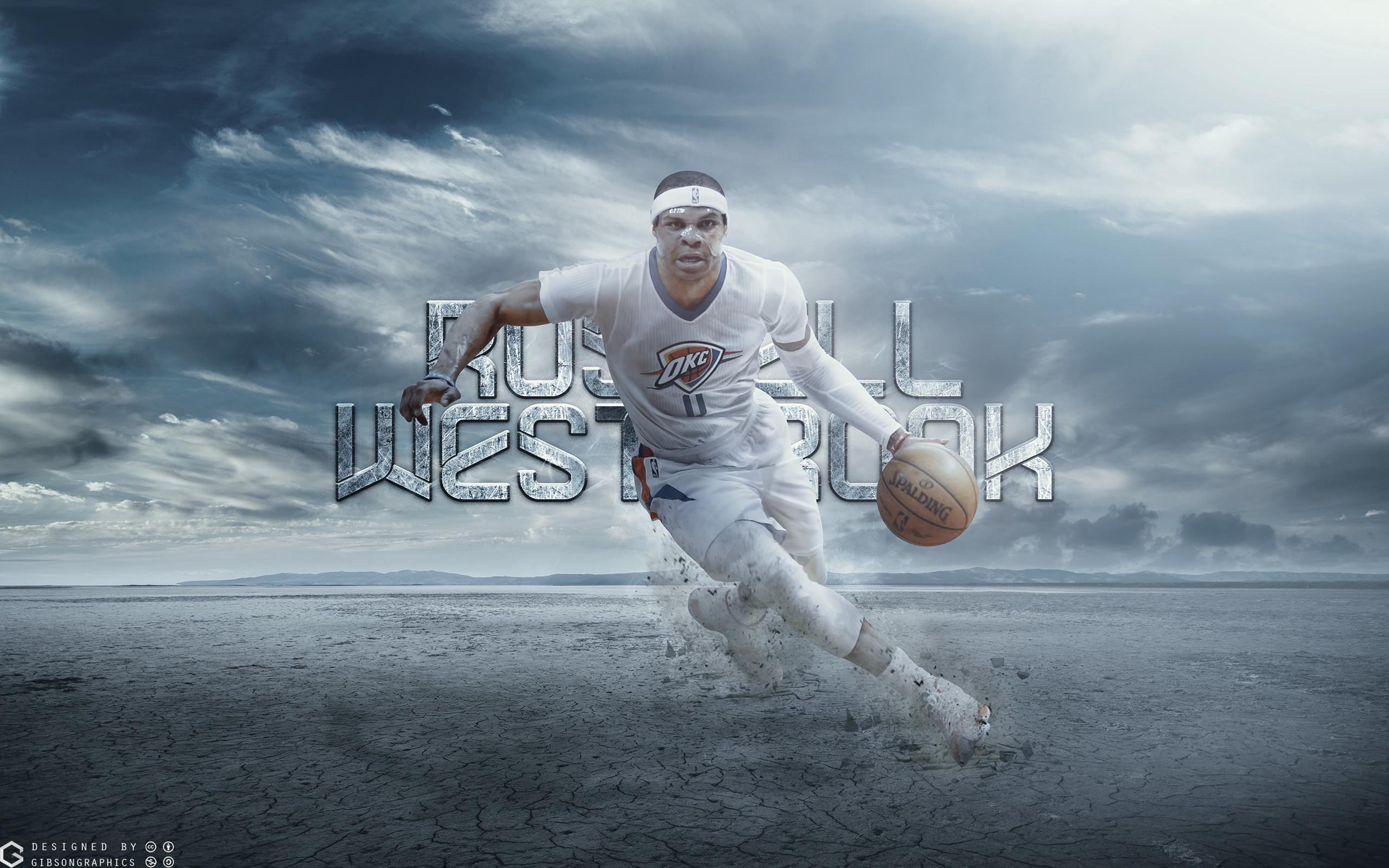 Russ Westbrook Thunder 2015 2560×1600 Wallpaper