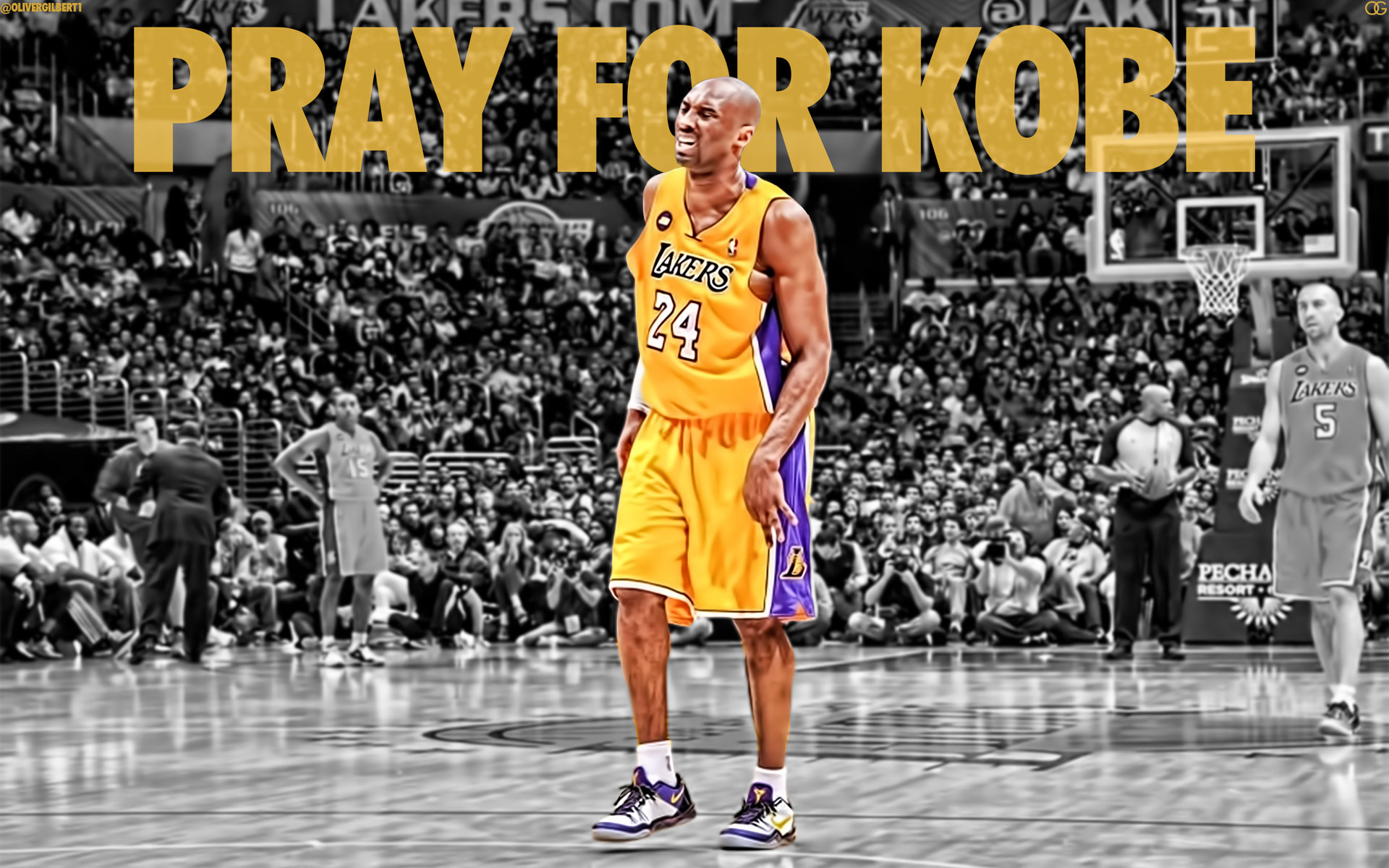 Kobe Bryant Pray For Kobe 1920×1200 Wallpaper