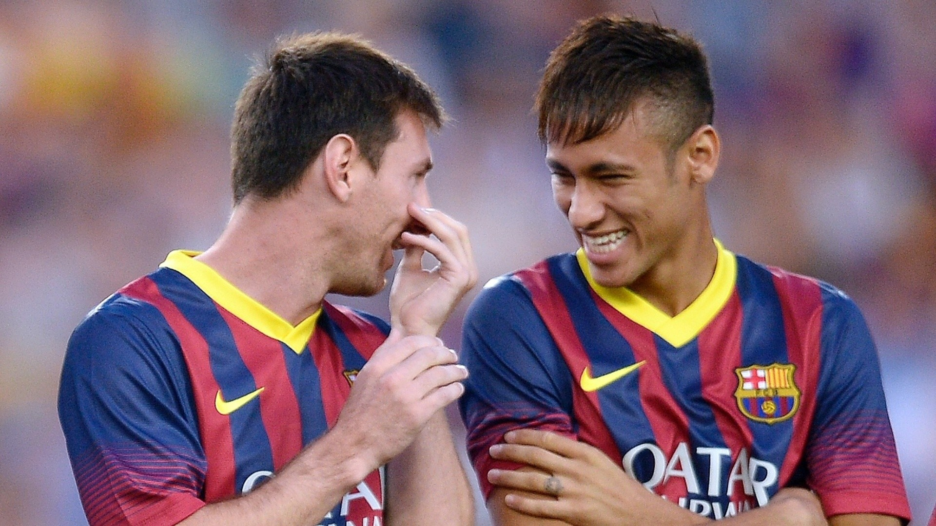 Barcelona legend Leo Messi produced a ridiculous pass for Neymar goal v  Roma (Video)