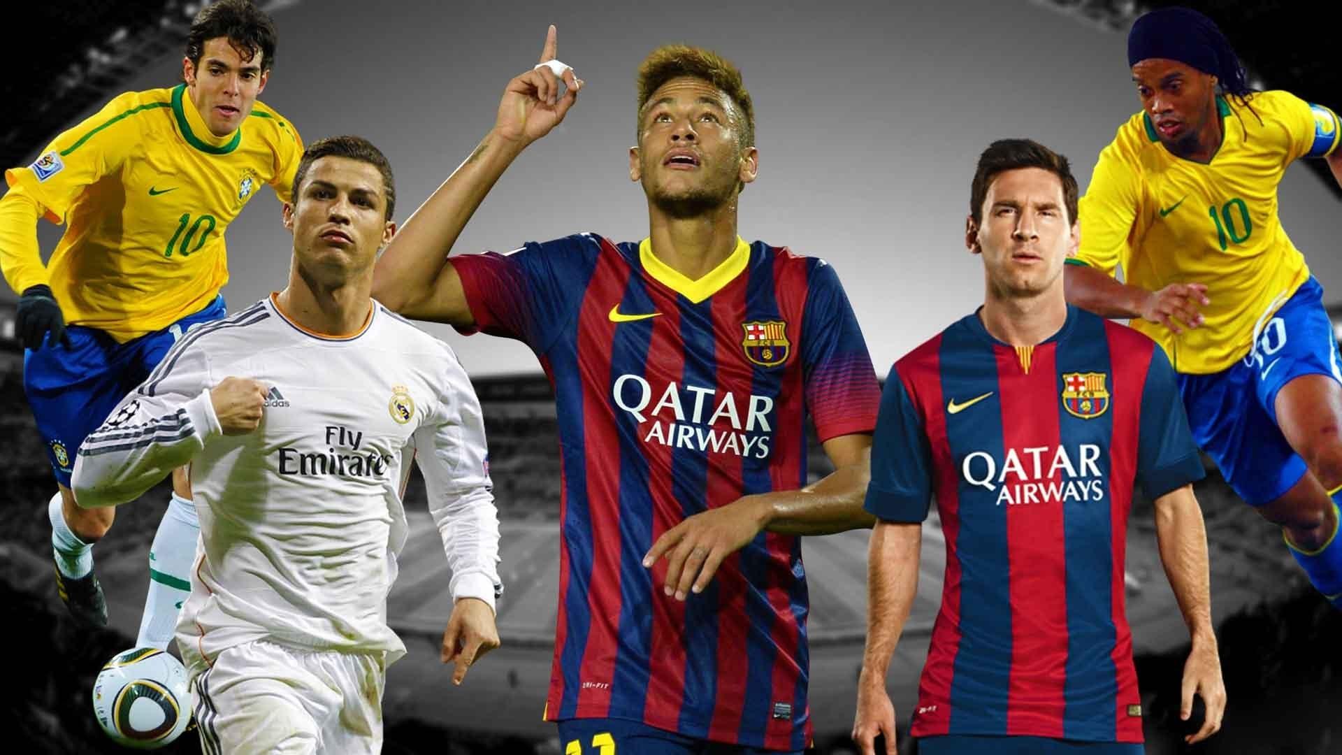 Cristiano Ronaldo vs Messi vs Neymar vs Ronaldinho vs Kaka [HD] – YouTube