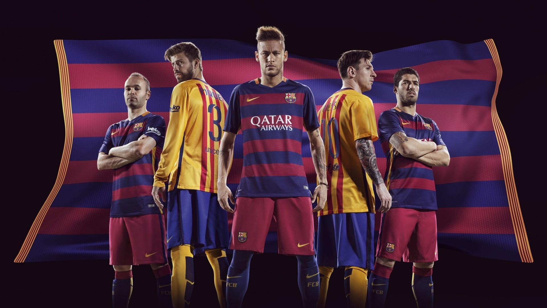 Wonderful Fc Barcelona Neymar And Messi Wallpaper SDH4
