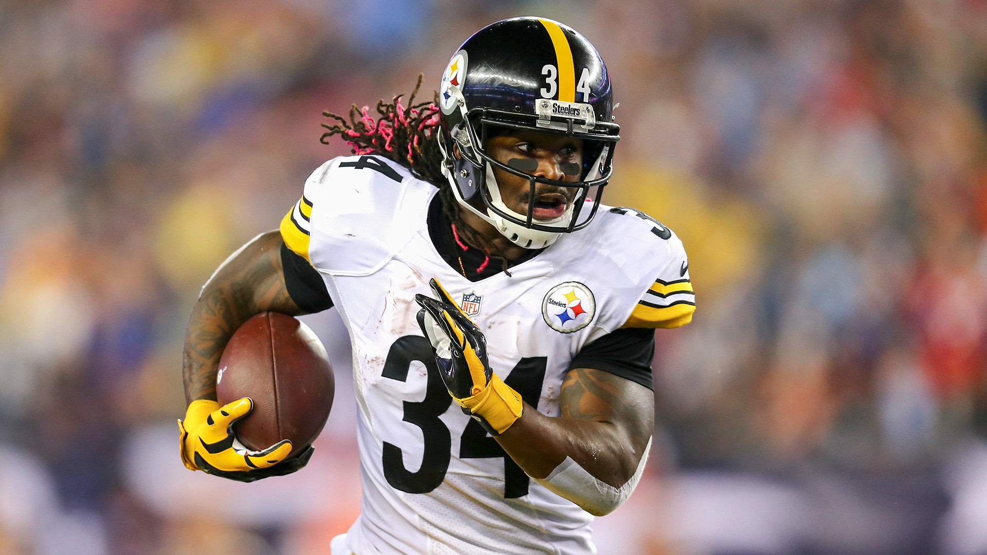 Despite his impressive performance, Williams recently lost the starting job  to LeVeon Bell.